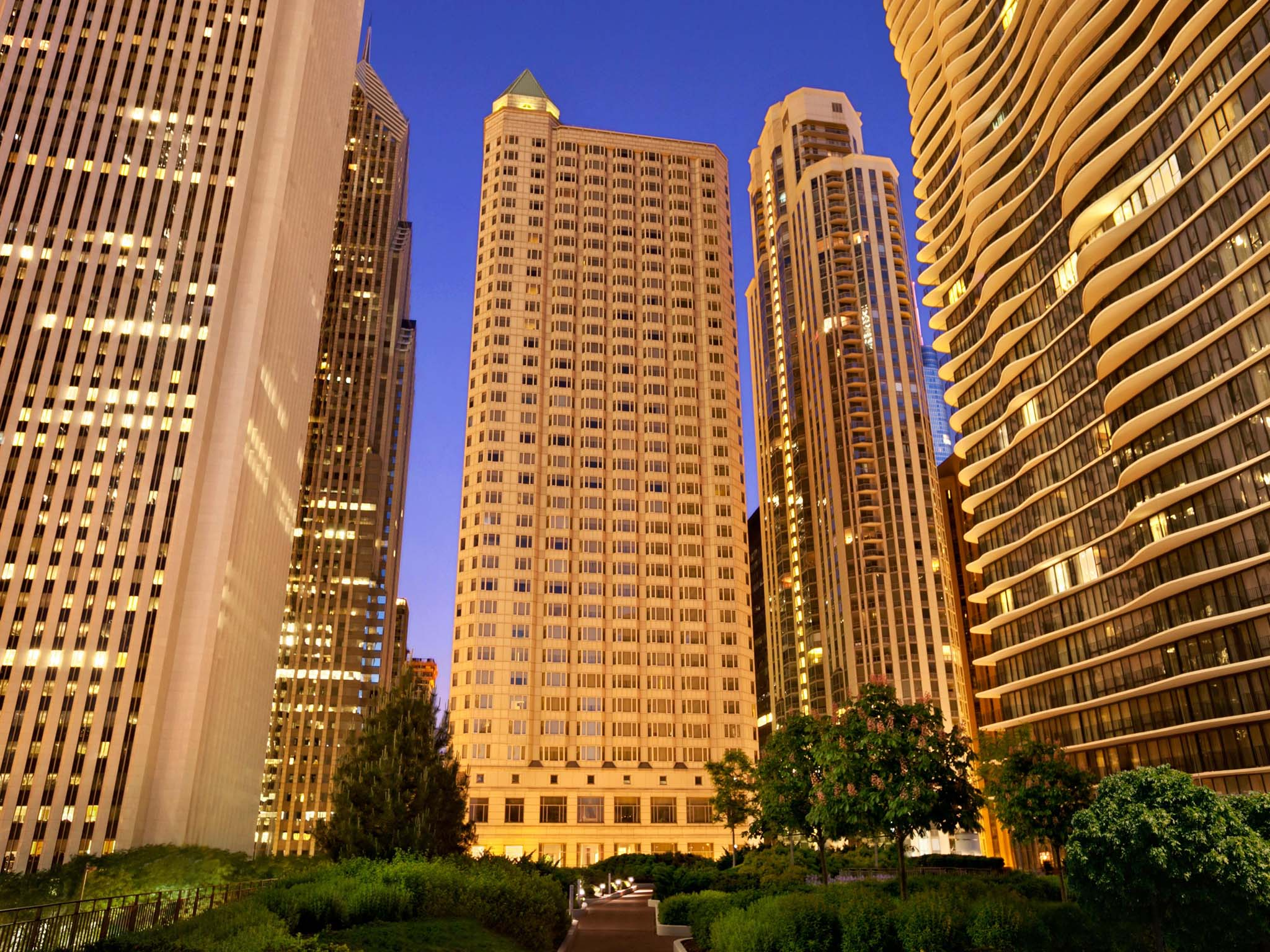 Otel – Fairmont Chicago - Millennium Park