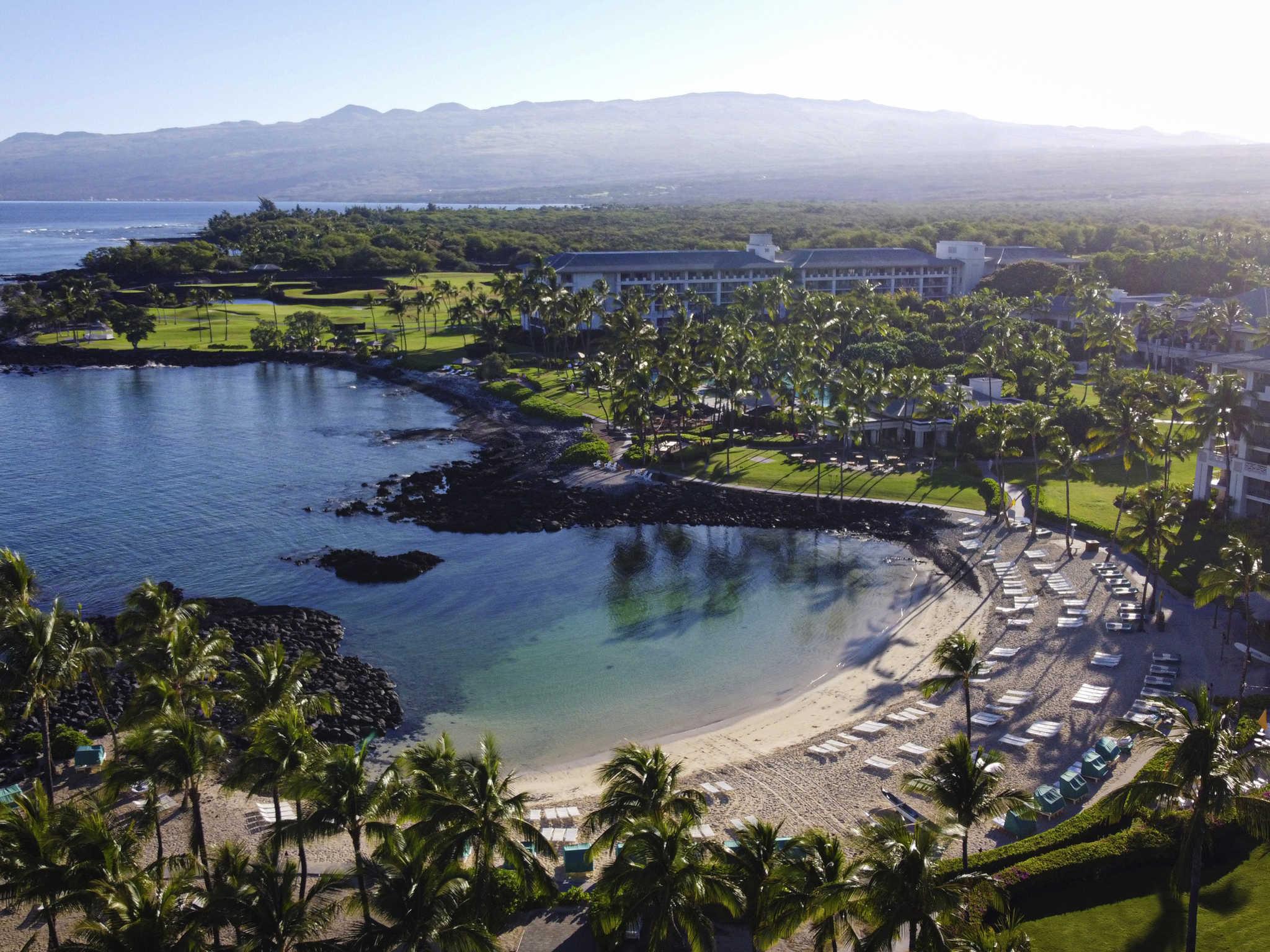 Отель — Fairmont Orchid - Гавайи