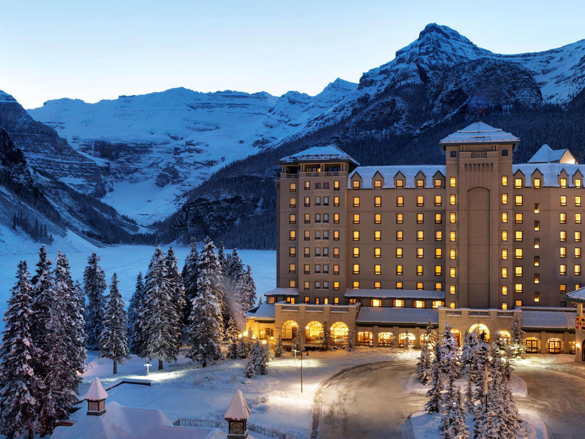 ホテル – Fairmont Chateau Lake Louise