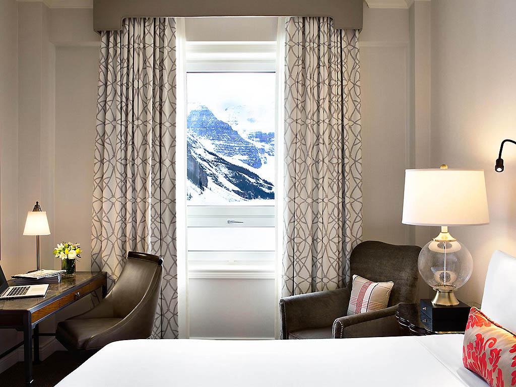 Fairmont Zimmer Mit Blick Auf Den See Und Kingsize Bett