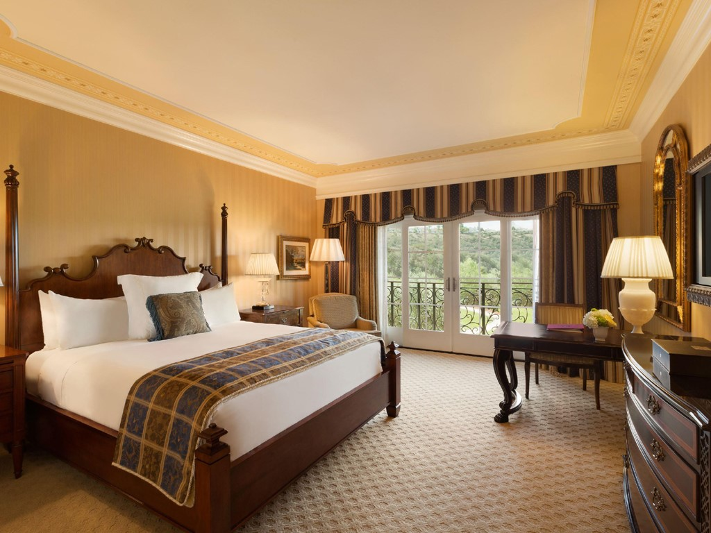 H tel san diego fairmont grand del mar for Chambre avec lit king size