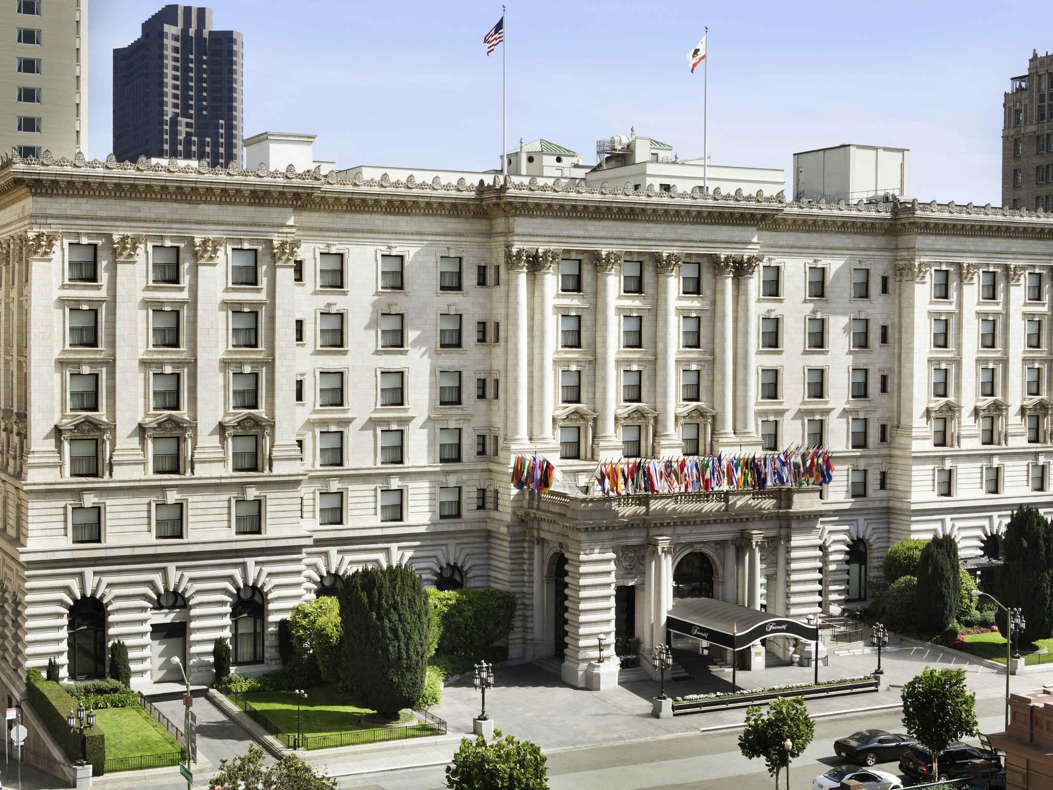 โรงแรม – Fairmont San Francisco