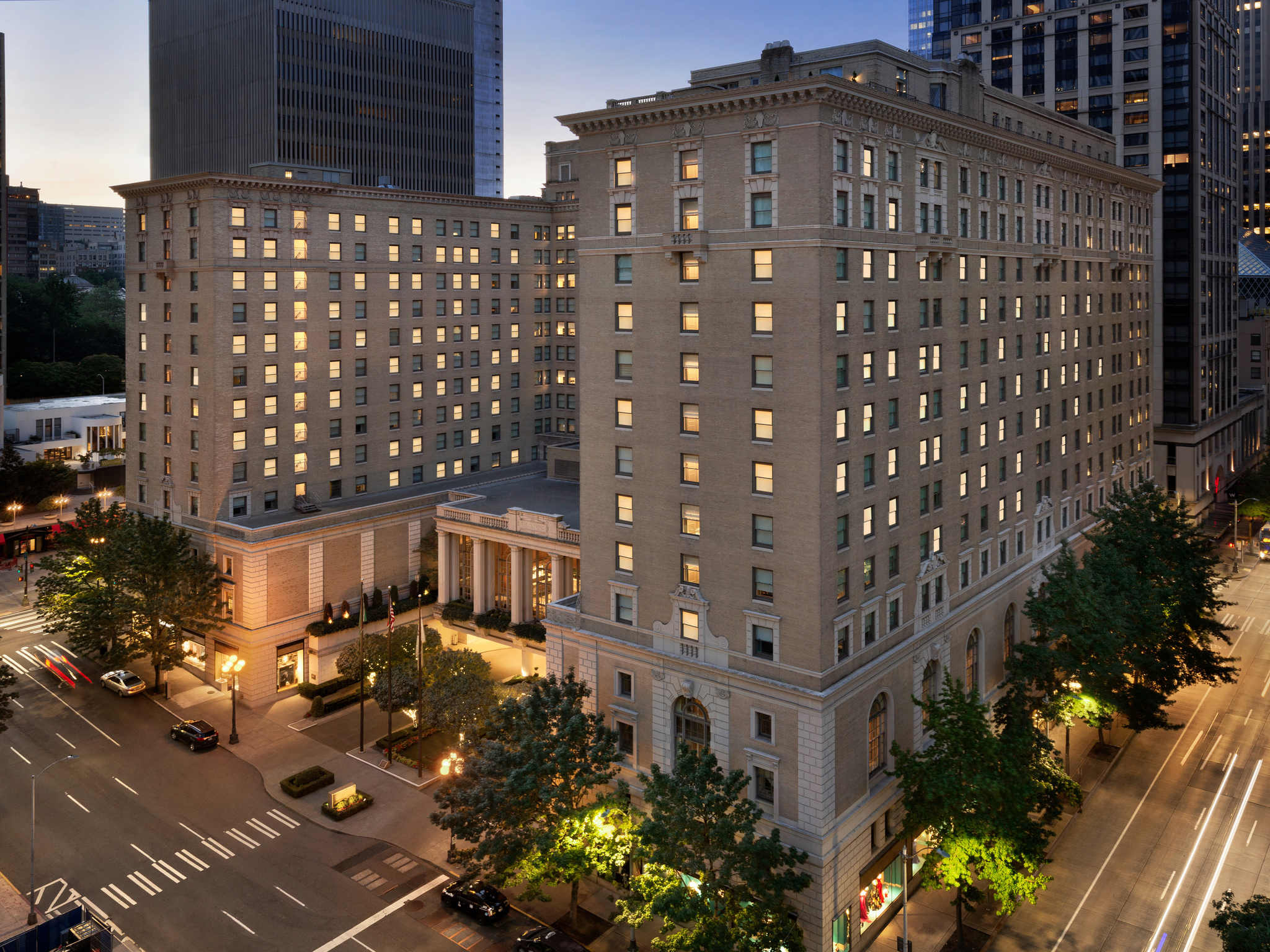 Hotel - Fairmont Olympic Hotel - Seattle
