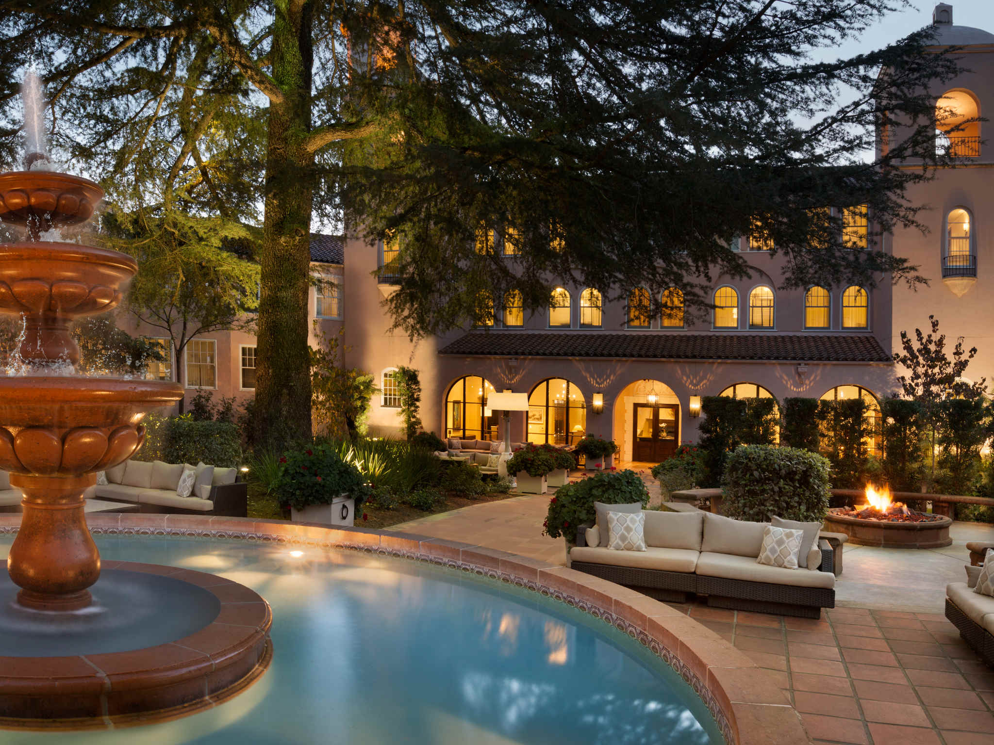 โรงแรม – Fairmont Sonoma Mission Inn & Spa