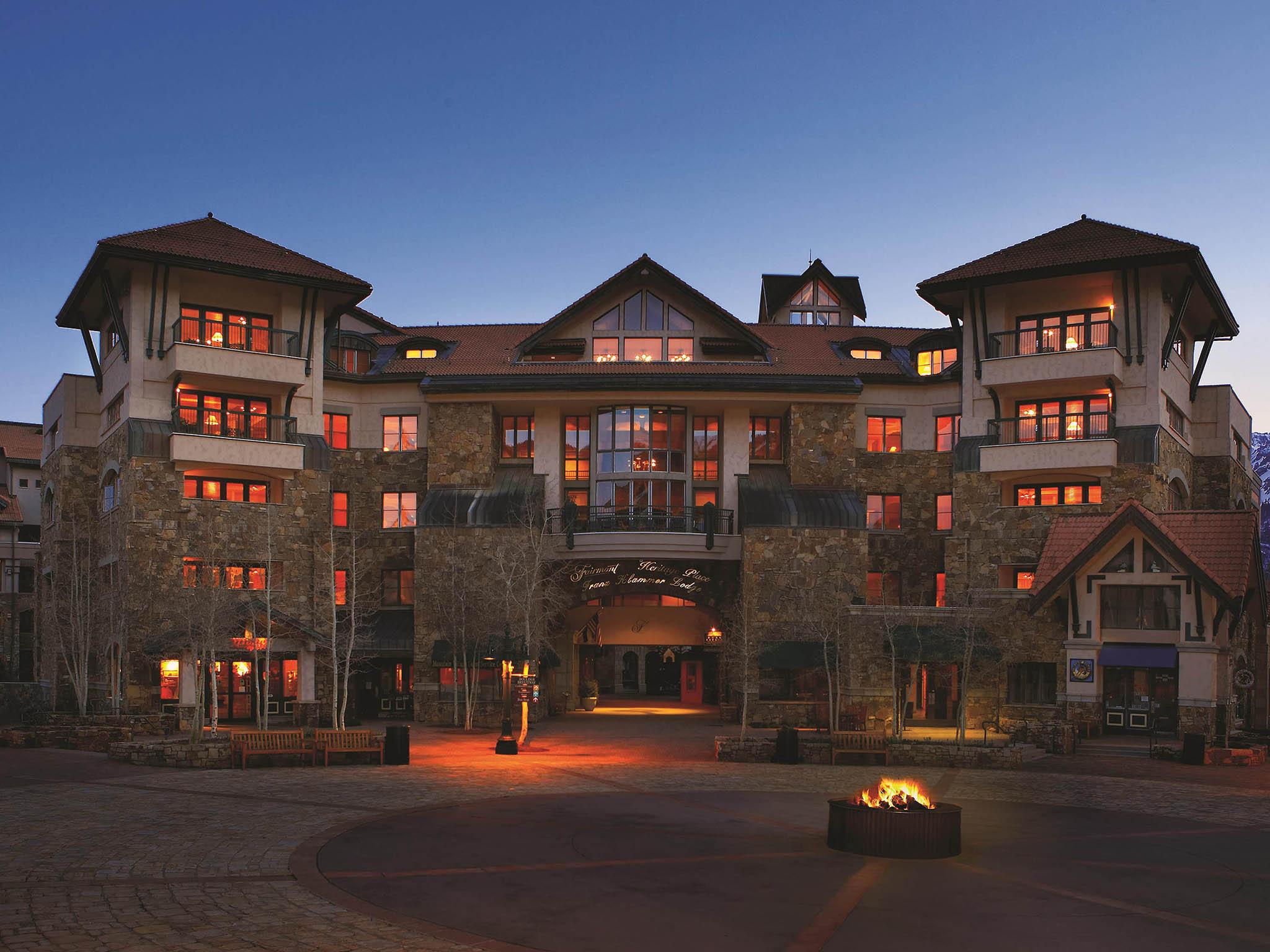 โรงแรม – Fairmont Heritage Place - Franz Klammer Lodge