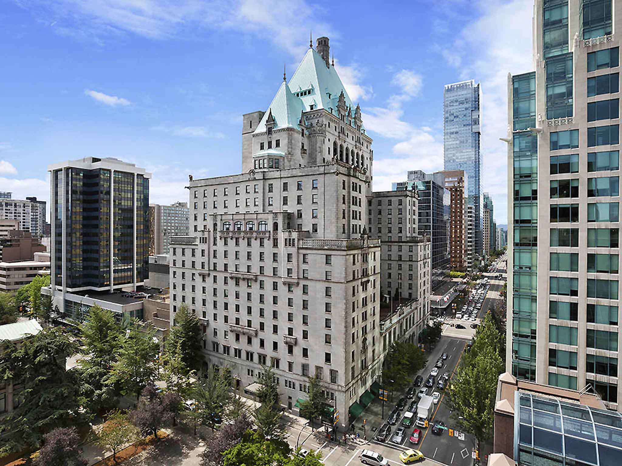 Hotell – Fairmont Hotel Vancouver