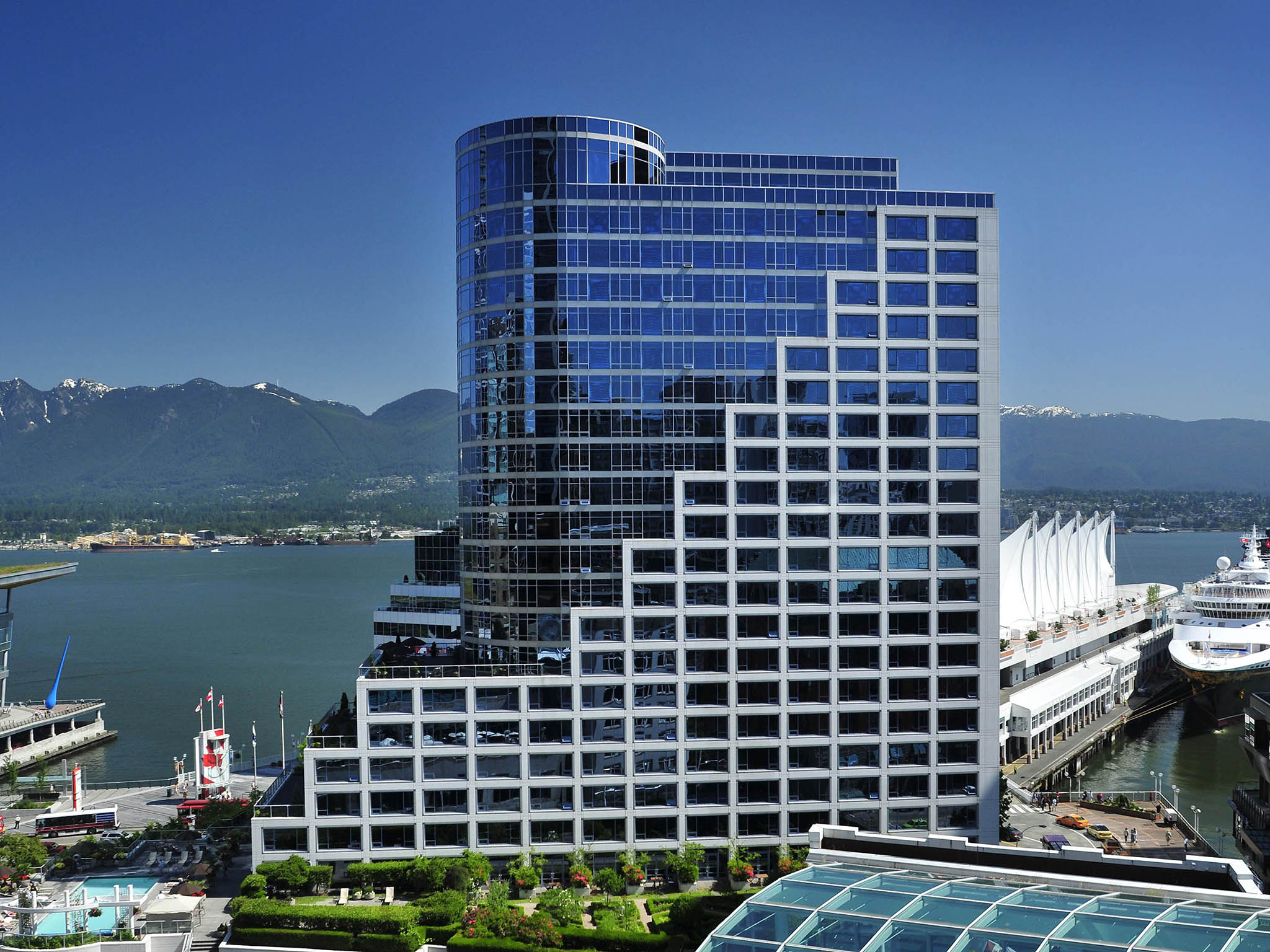 酒店 – Fairmont Waterfront 酒店