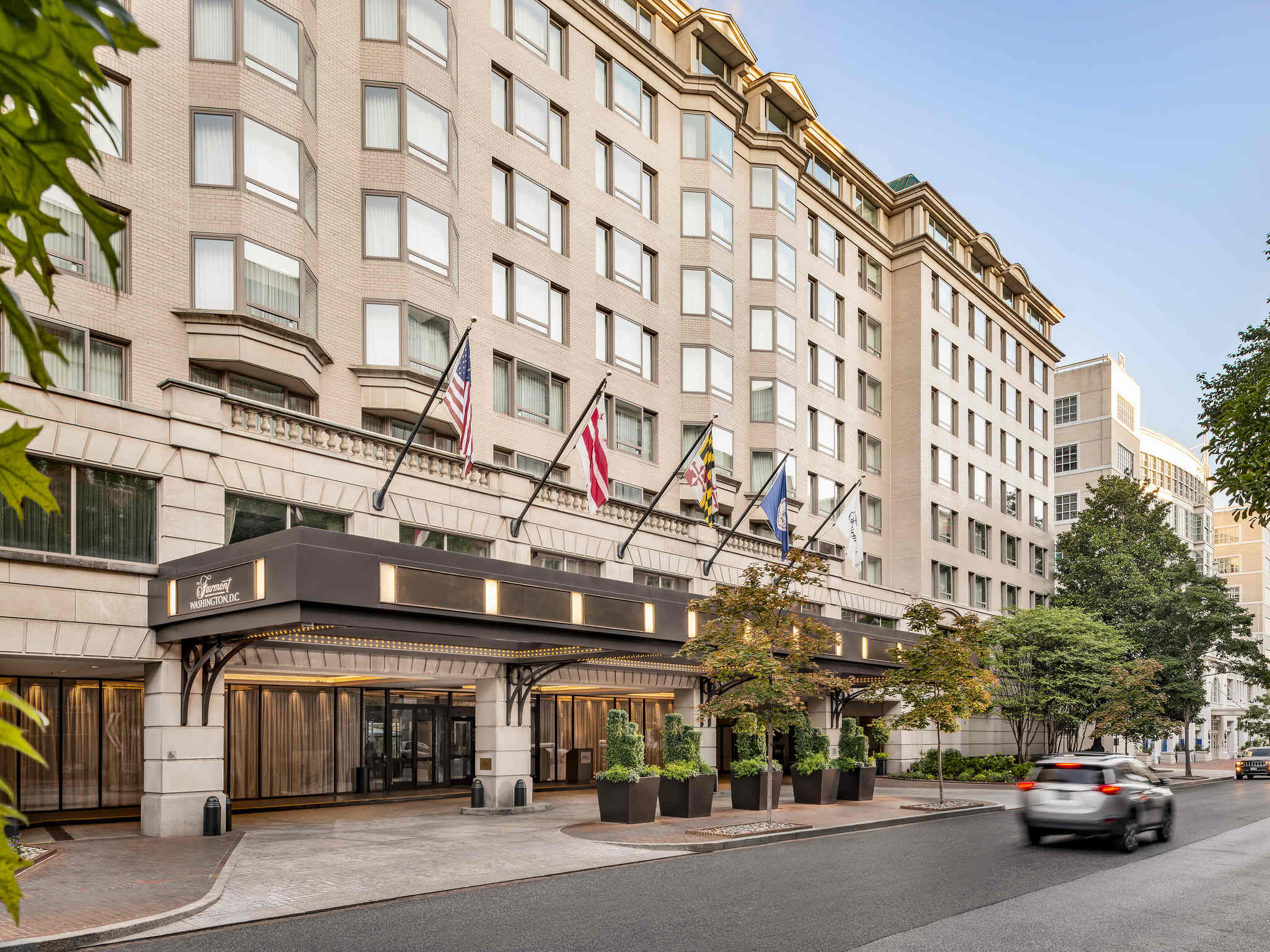 Hotel Fairmont Washington D C Georgetown