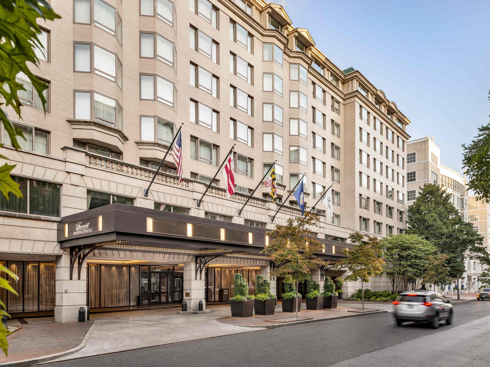 Отель — Fairmont Вашингтон Джорджтаун