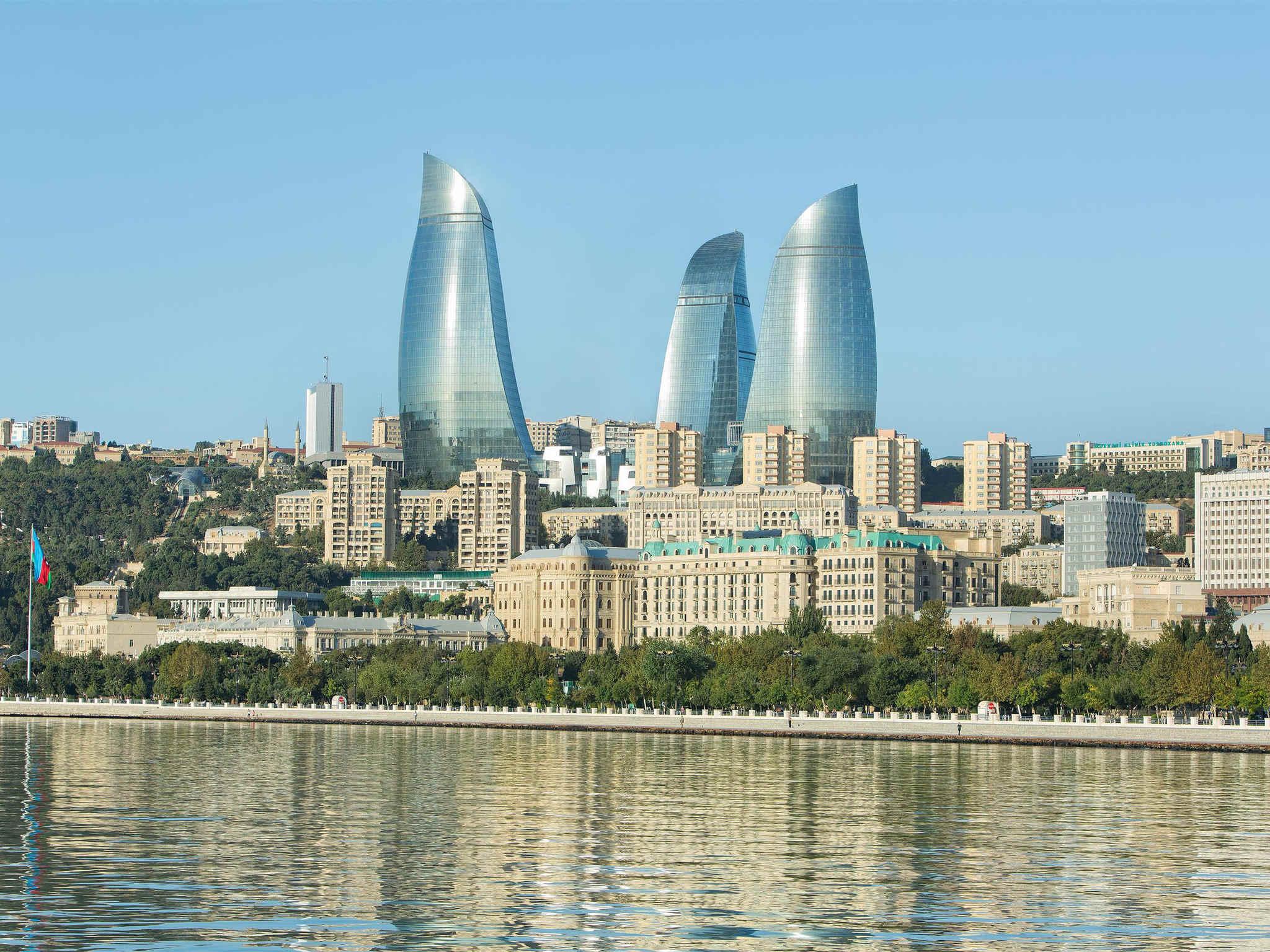 Отель — Fairmont Баку - «Огненные башни»