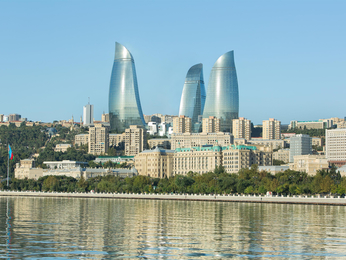 Fairmont Baku, Flame Towers, Azerbaijan