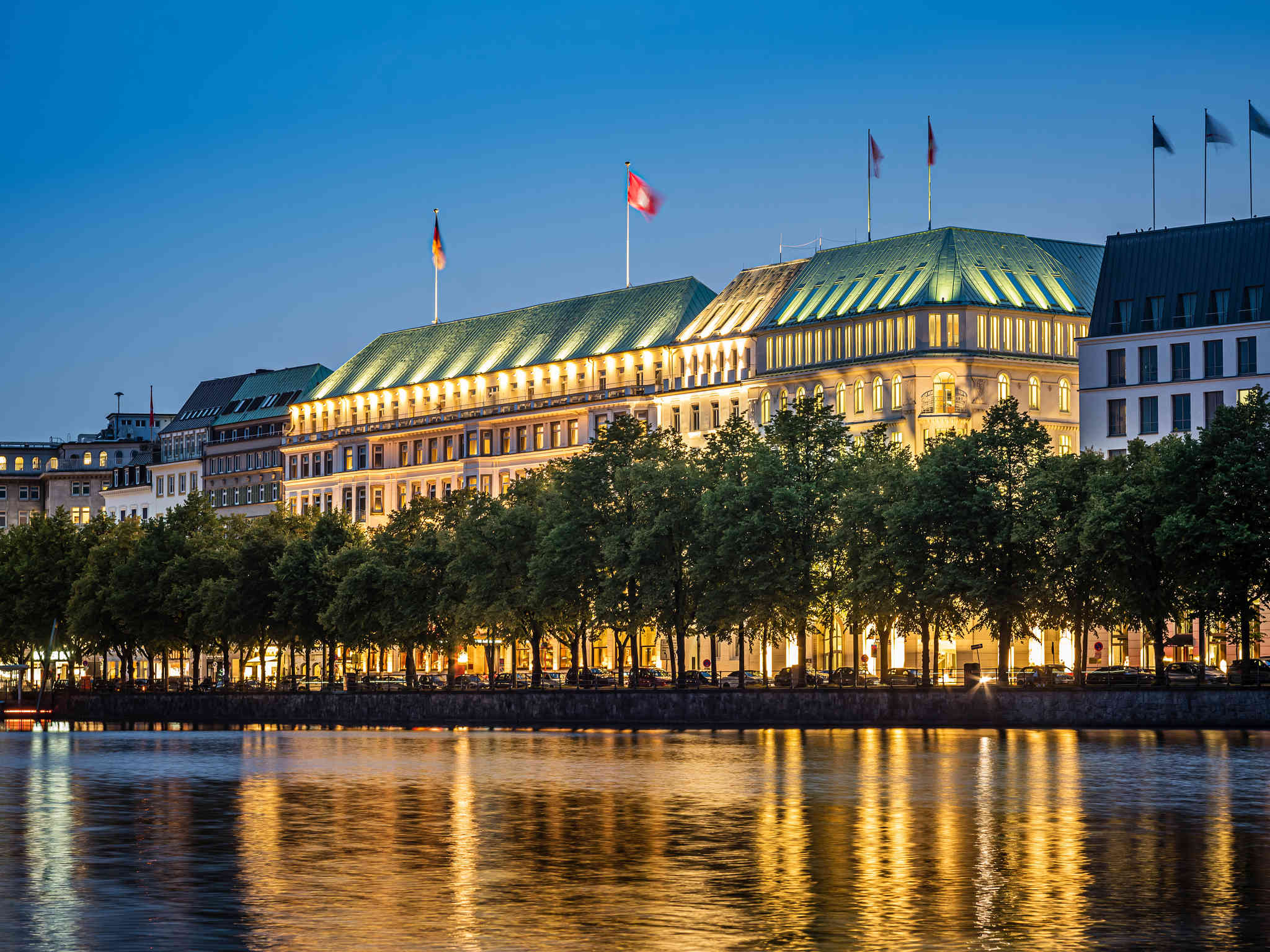 Hôtel - Fairmont Hotel Vier Jahreszeiten