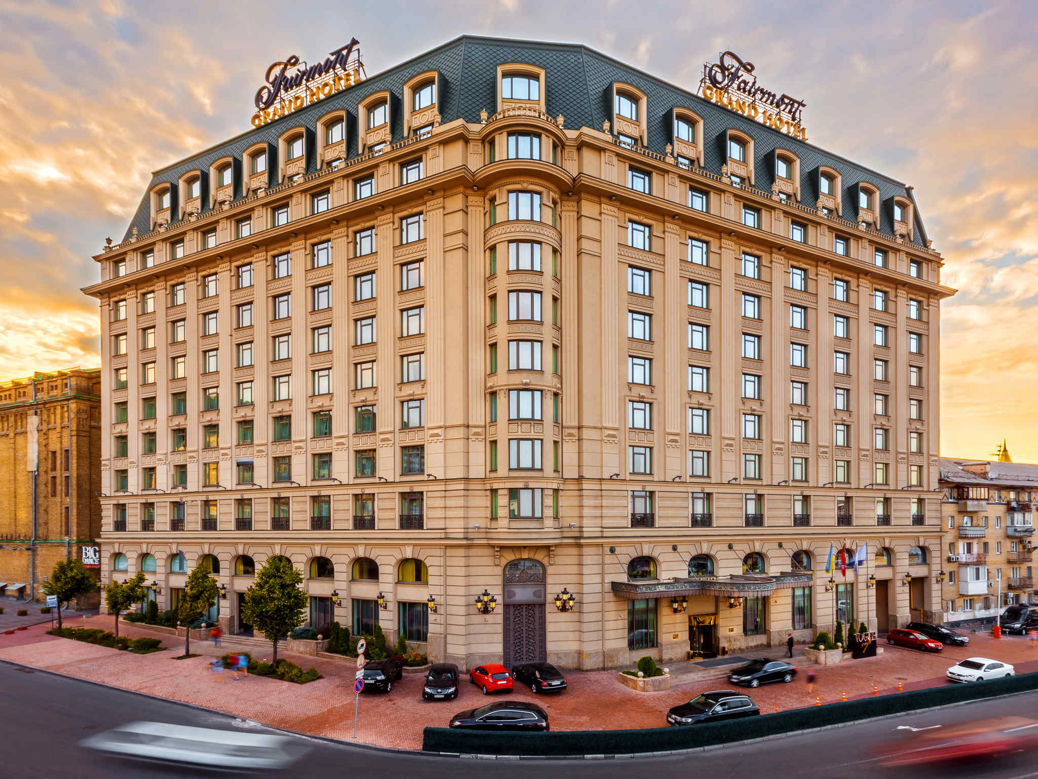 Hotell – Fairmont Grand Hotel - Kyiv
