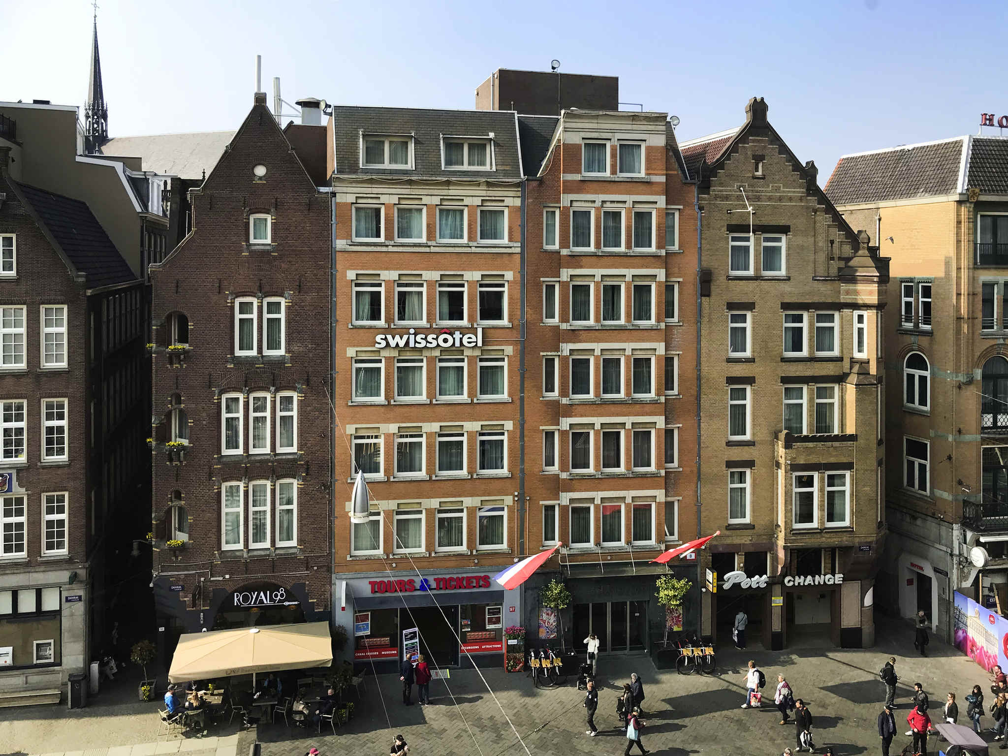 Luxury hotel amsterdam centre swissotel near dam square for Swissotel amsterdam