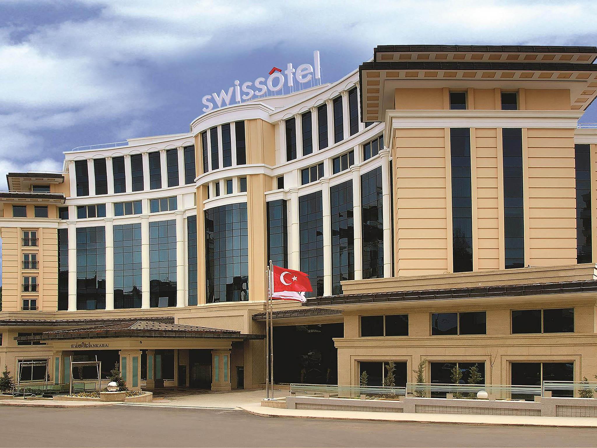 โรงแรม – Swissôtel Ankara