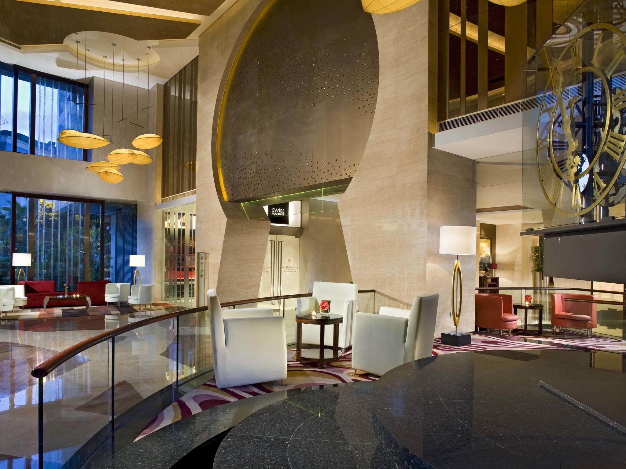 โรงแรม – Swissôtel Foshan