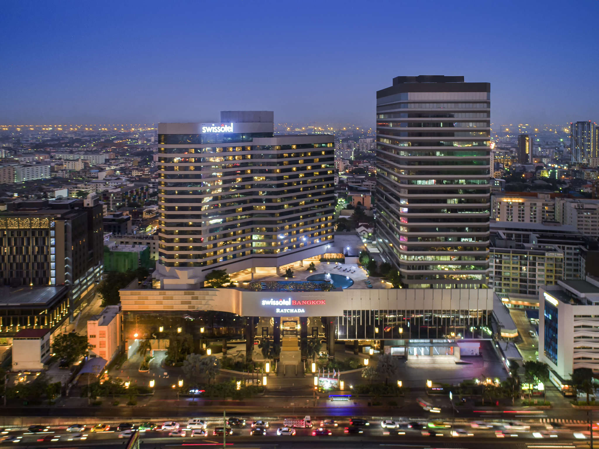 ホテル – Swissotel Bangkok Ratchada