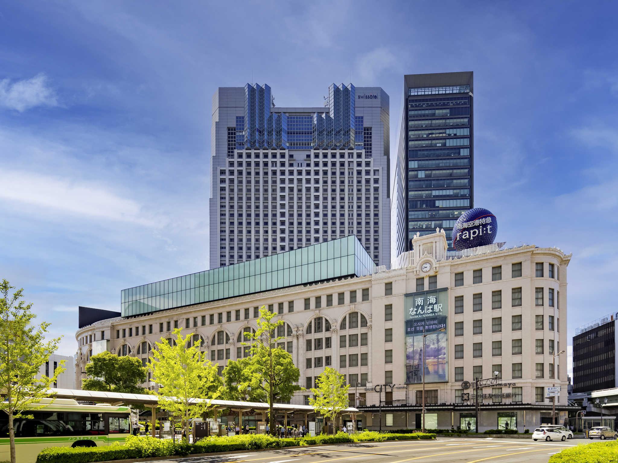 โรงแรม – Swissôtel Nankai Osaka
