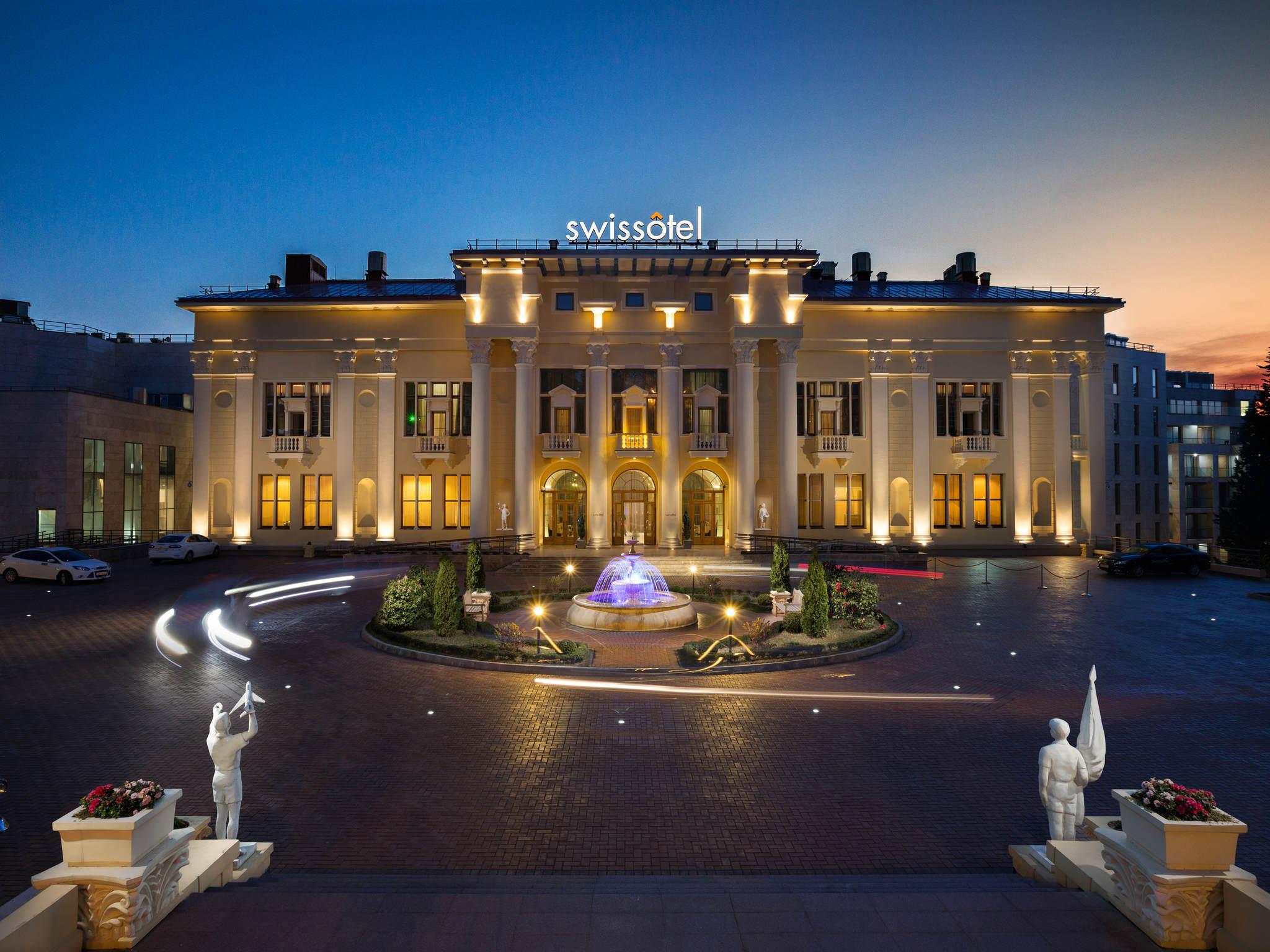 โรงแรม – Swissôtel Resort Sochi Kamelia