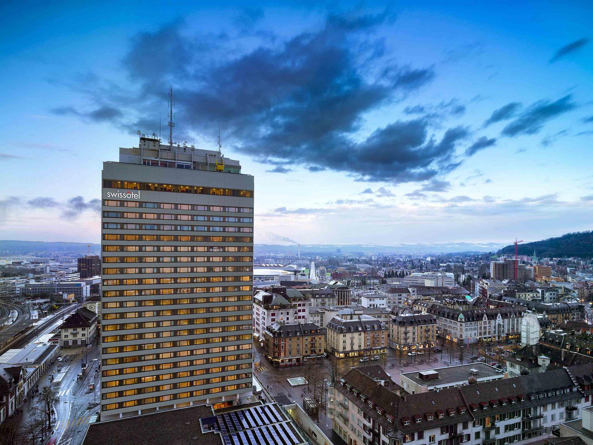 โรงแรม – Swissôtel Zürich