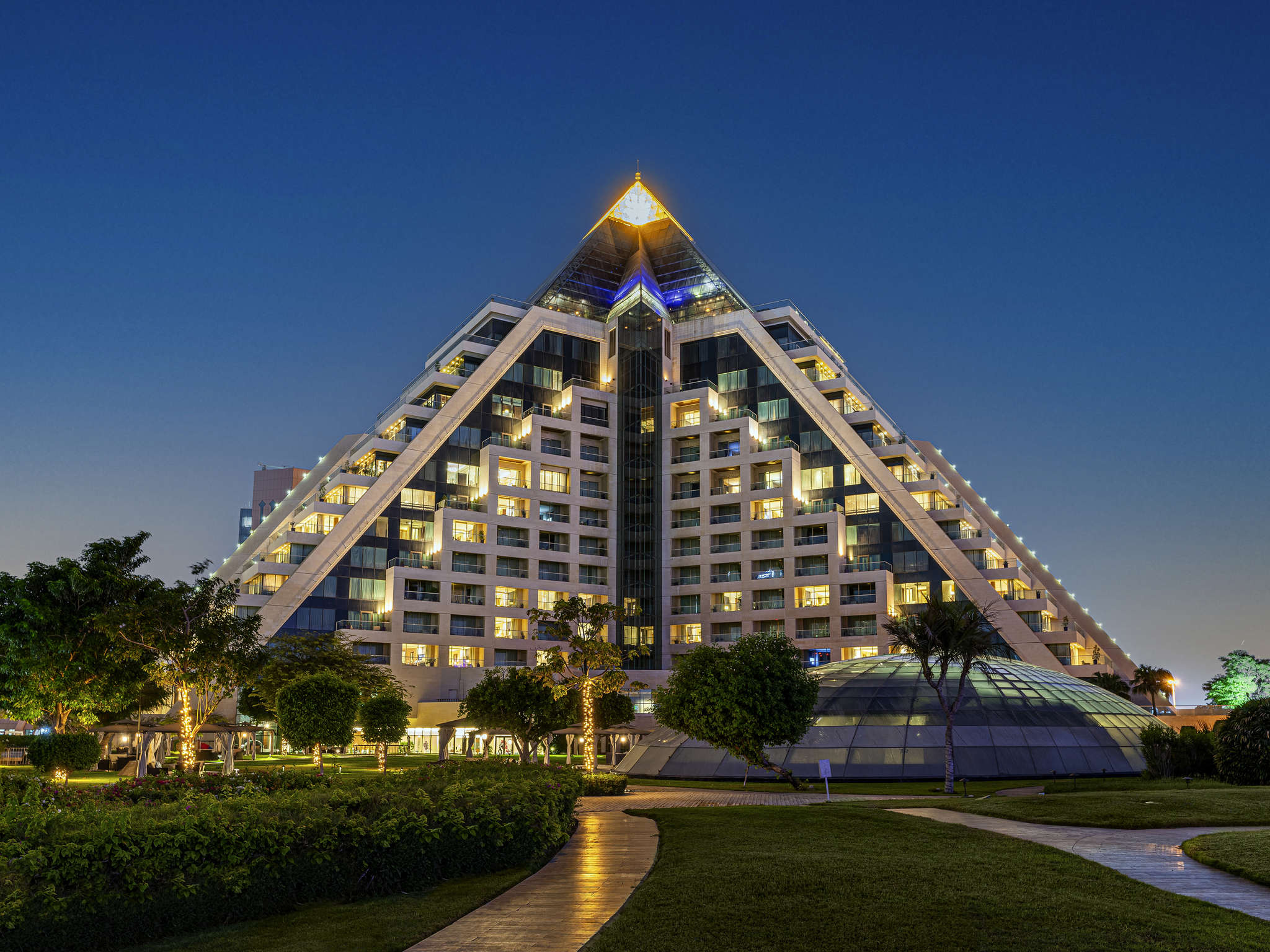 Hôtel - Raffles Dubaï