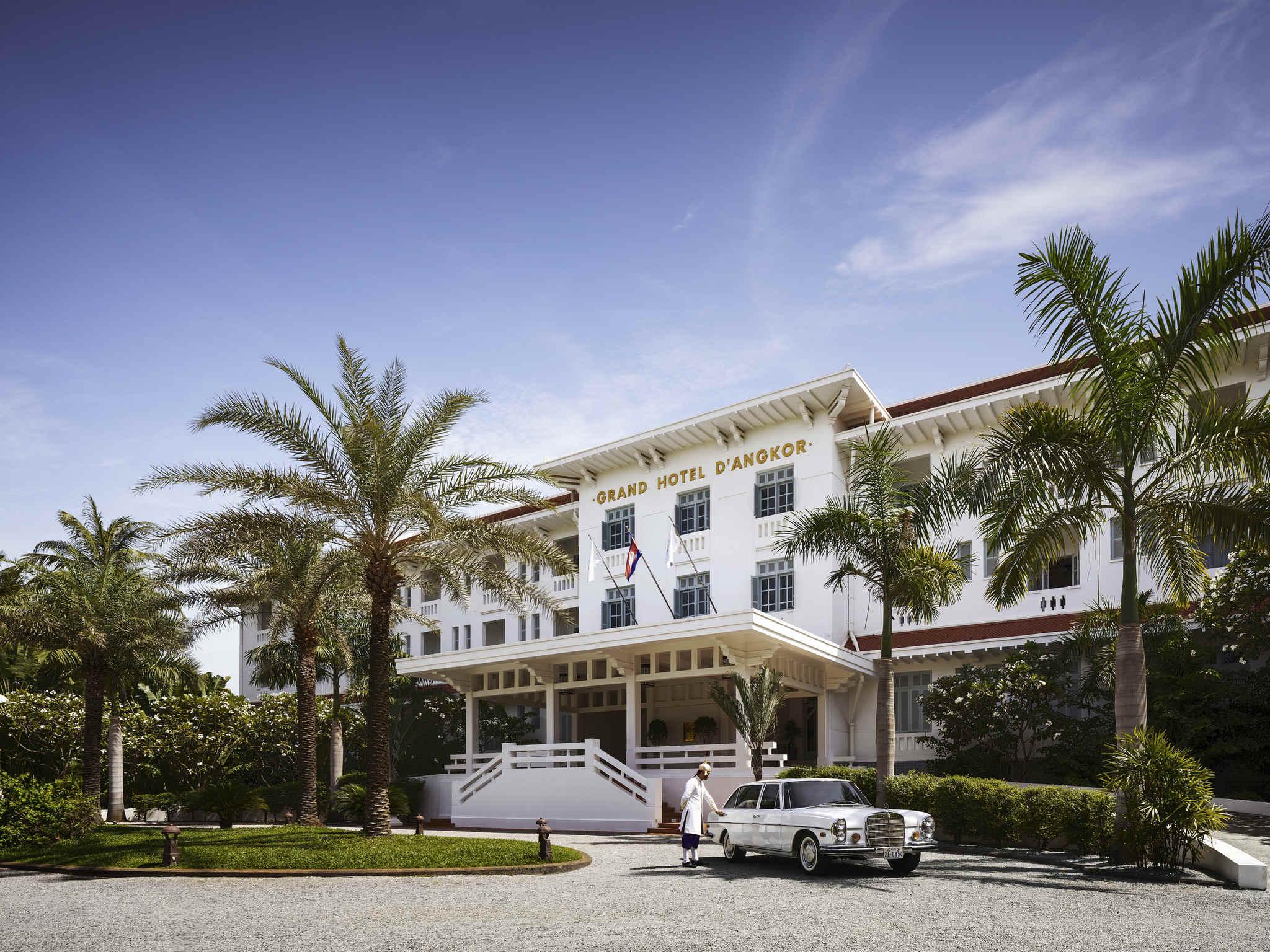 Otel – Raffles Grand Hotel d'Angkor