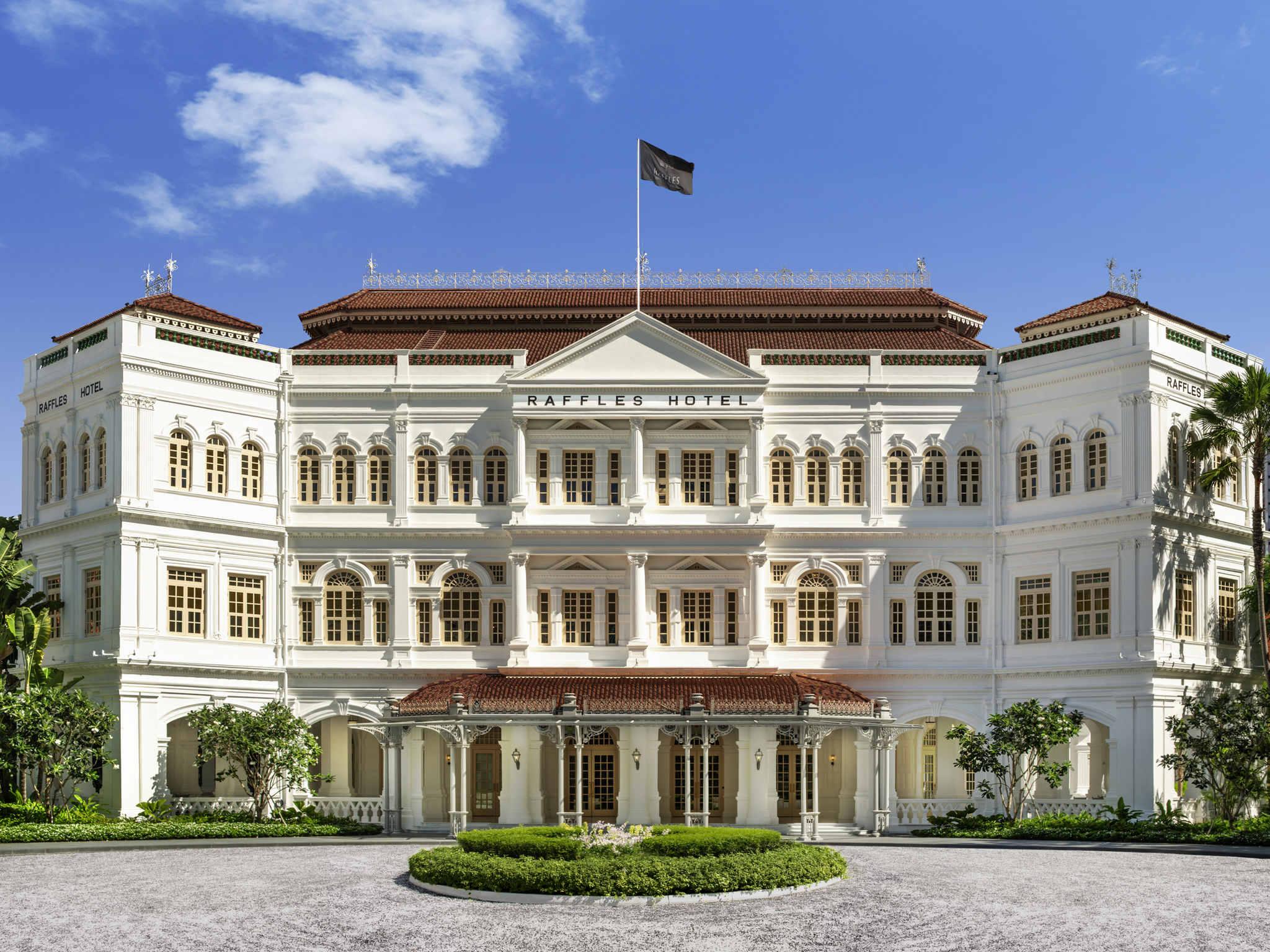 Hotel – Raffles Singapore - Dibuka kembali Triwulan I tahun 2019