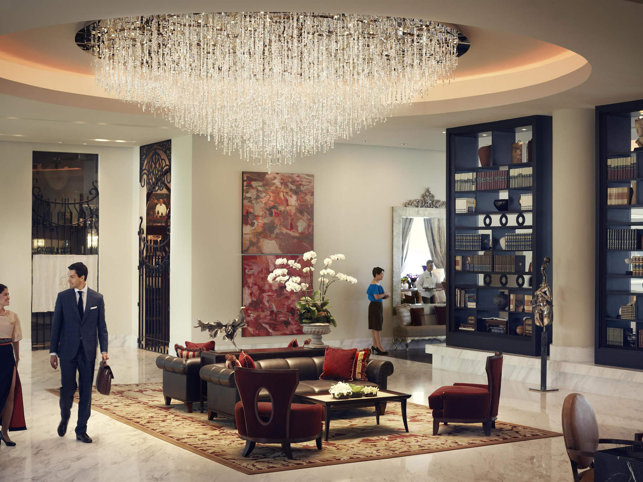 โรงแรม – Raffles Makati