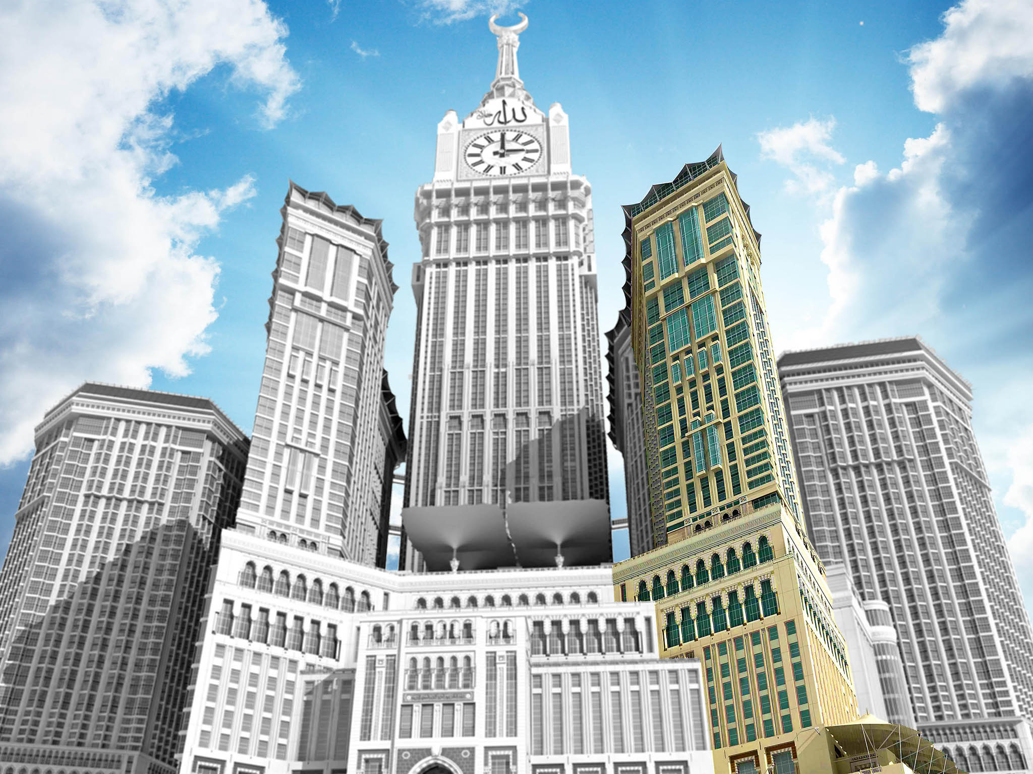 Hôtel - Raffles Makkah Palace