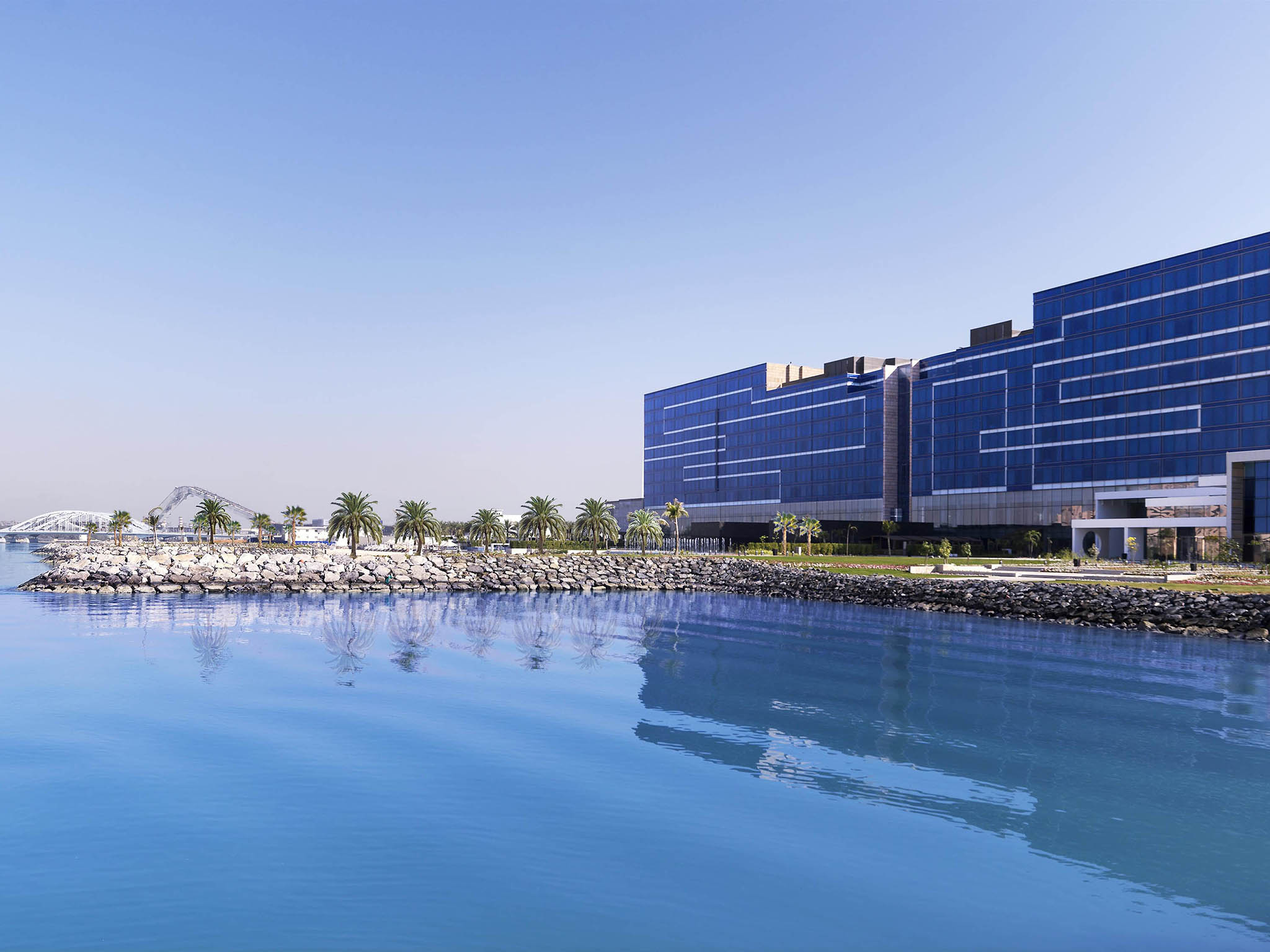 Hôtel - Fairmont Bab Al Bahr - Abou Dhabi