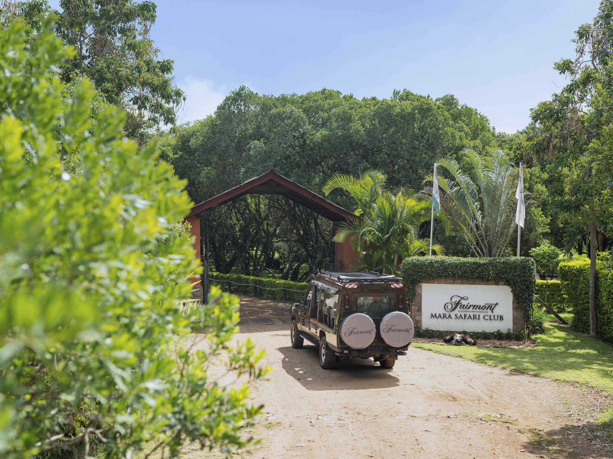 โรงแรม – Fairmont Mara Safari Club
