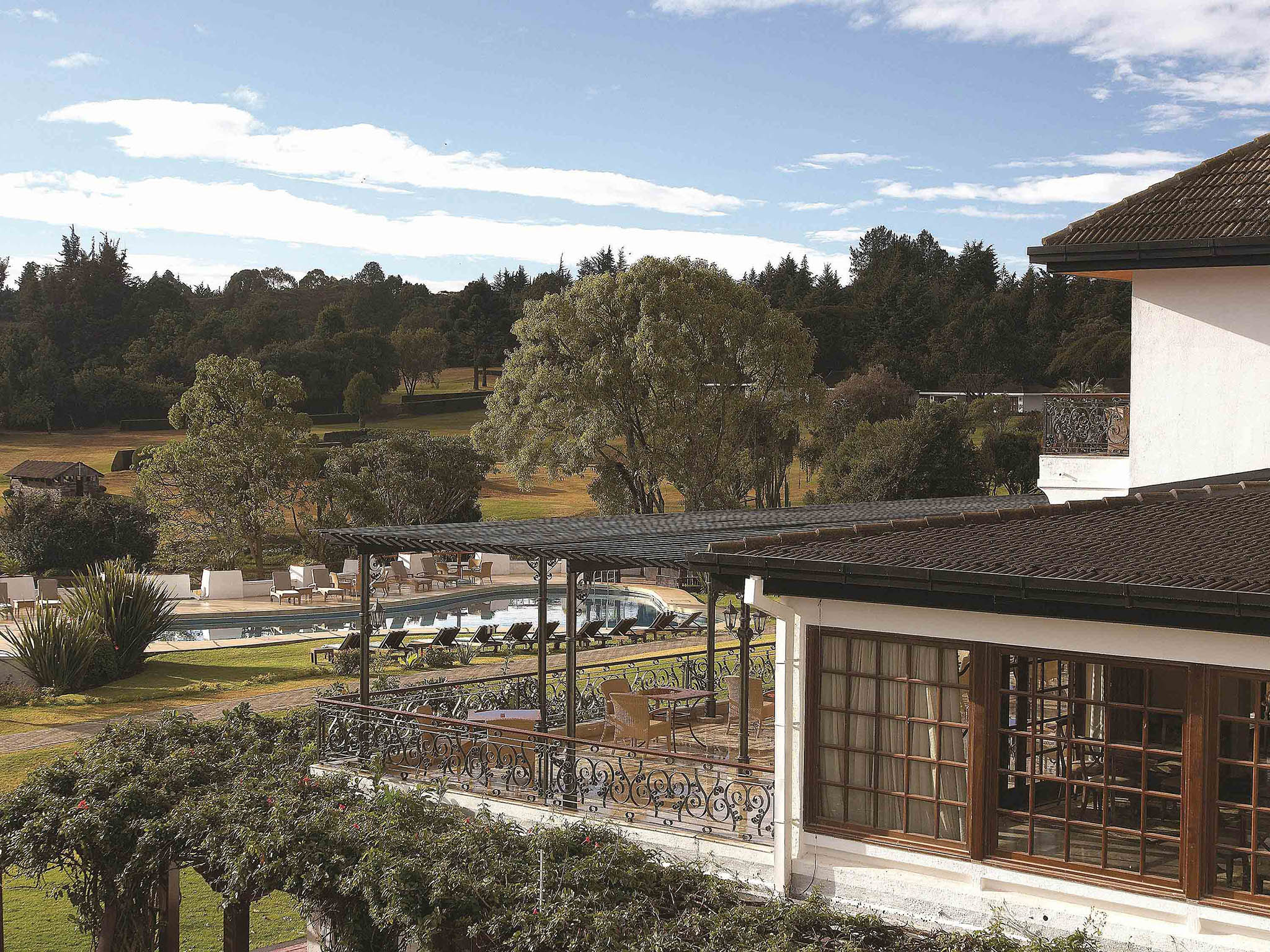 โรงแรม – Fairmont Mount Kenya Safari Club