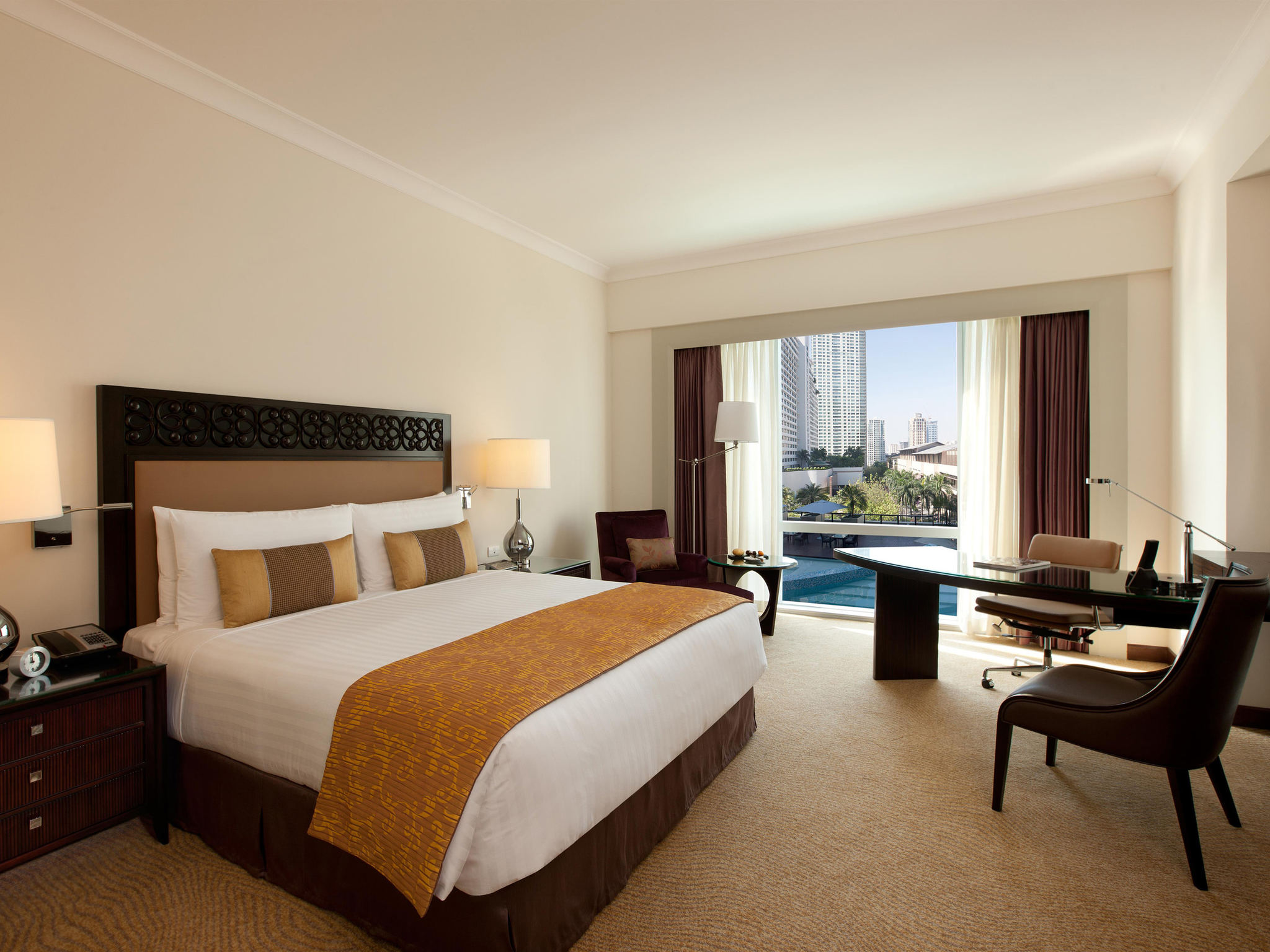 호텔 – Fairmont Makati