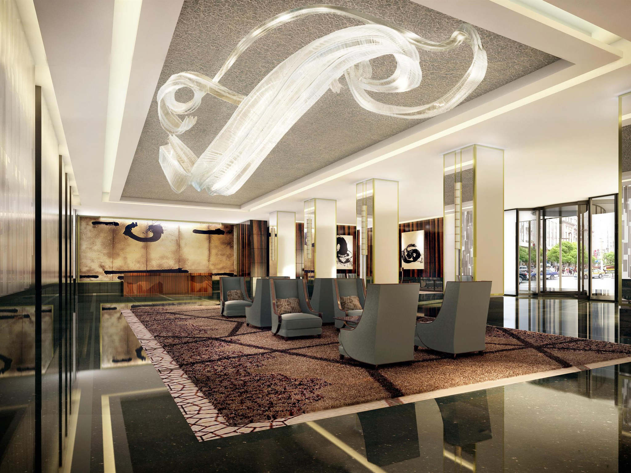 Otel – Fairmont Nanjing