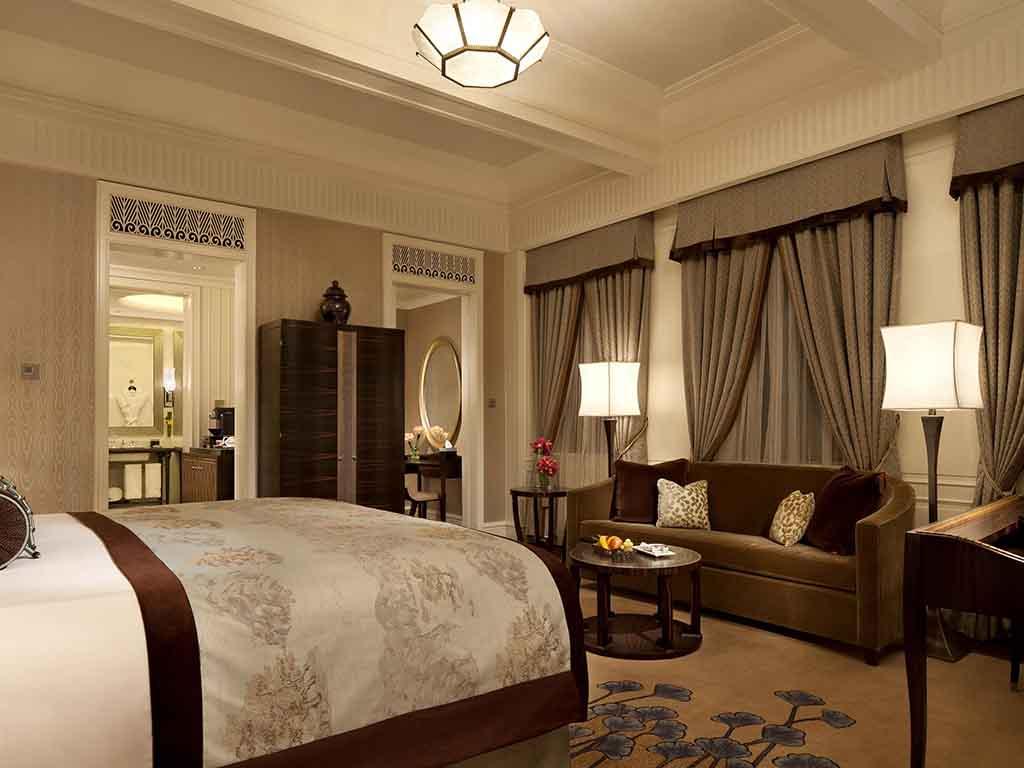 Hotel en shangh i fairmont peace hotel for Cama grand king
