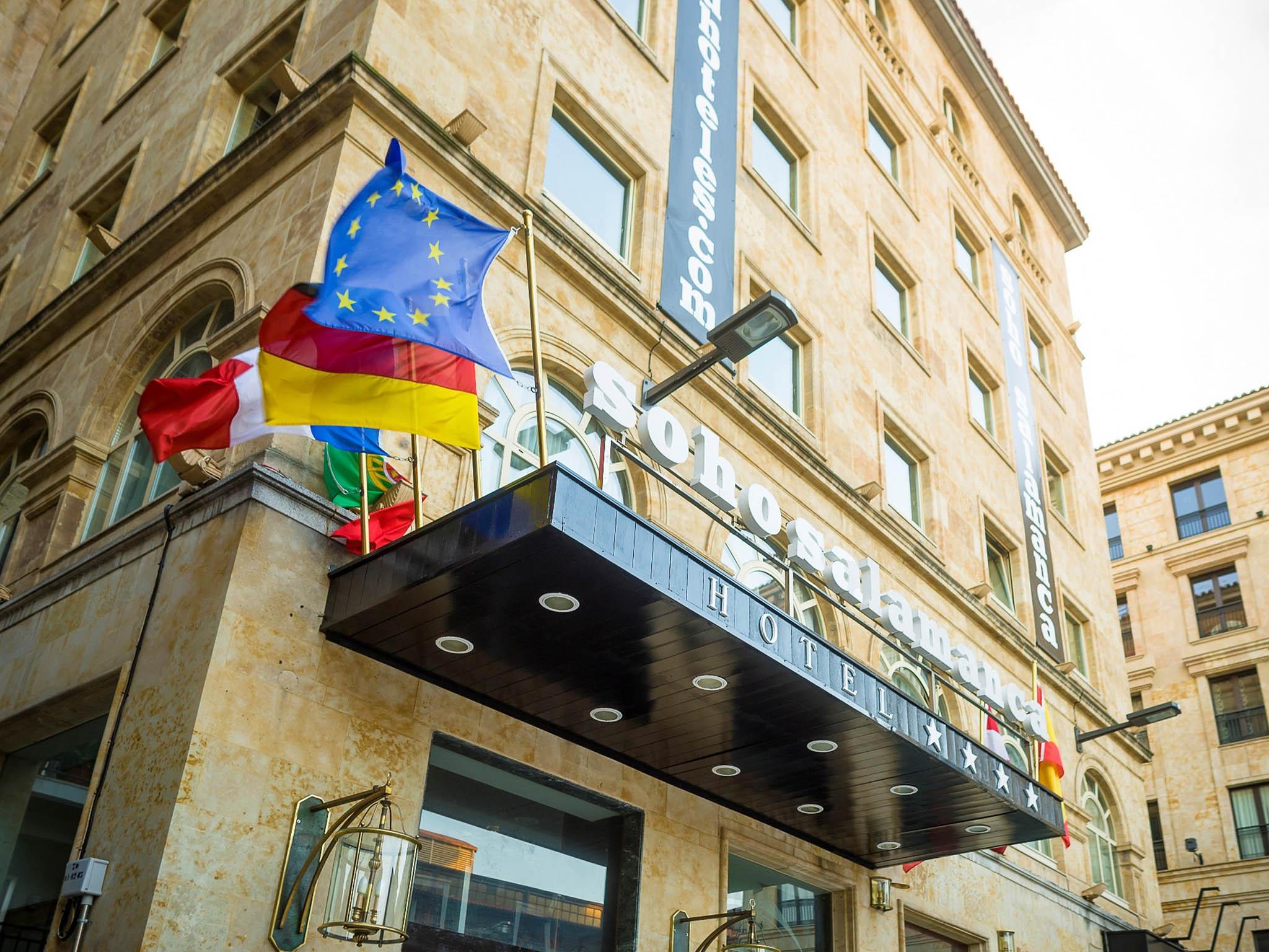 Hotel en salamanca soho boutique salamanca - Hotel salamanca 5 estrellas ...