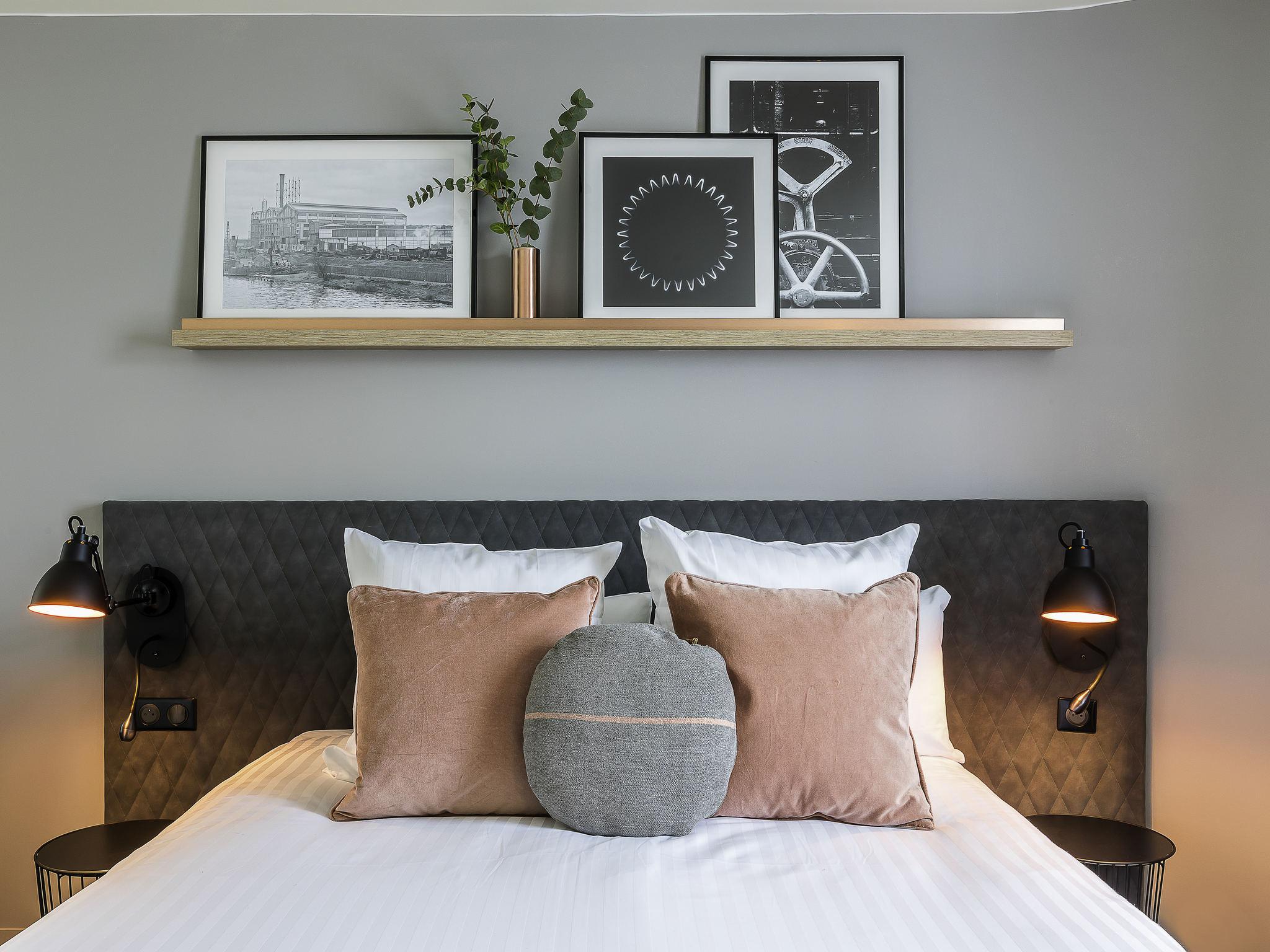 酒店 – 巴黎根尼维尔斯美居酒店