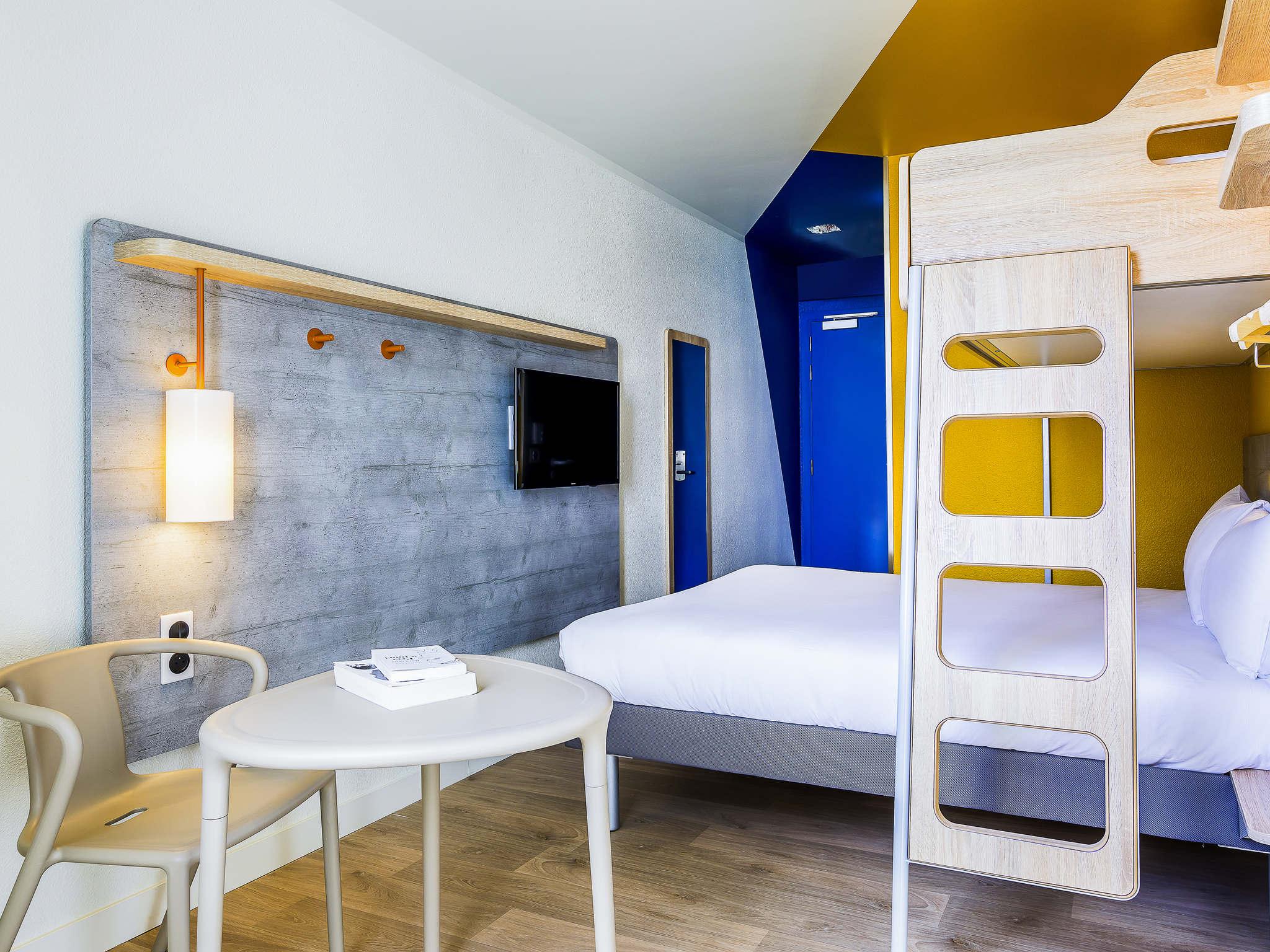 Отель — ibis budget Париж Женвилье