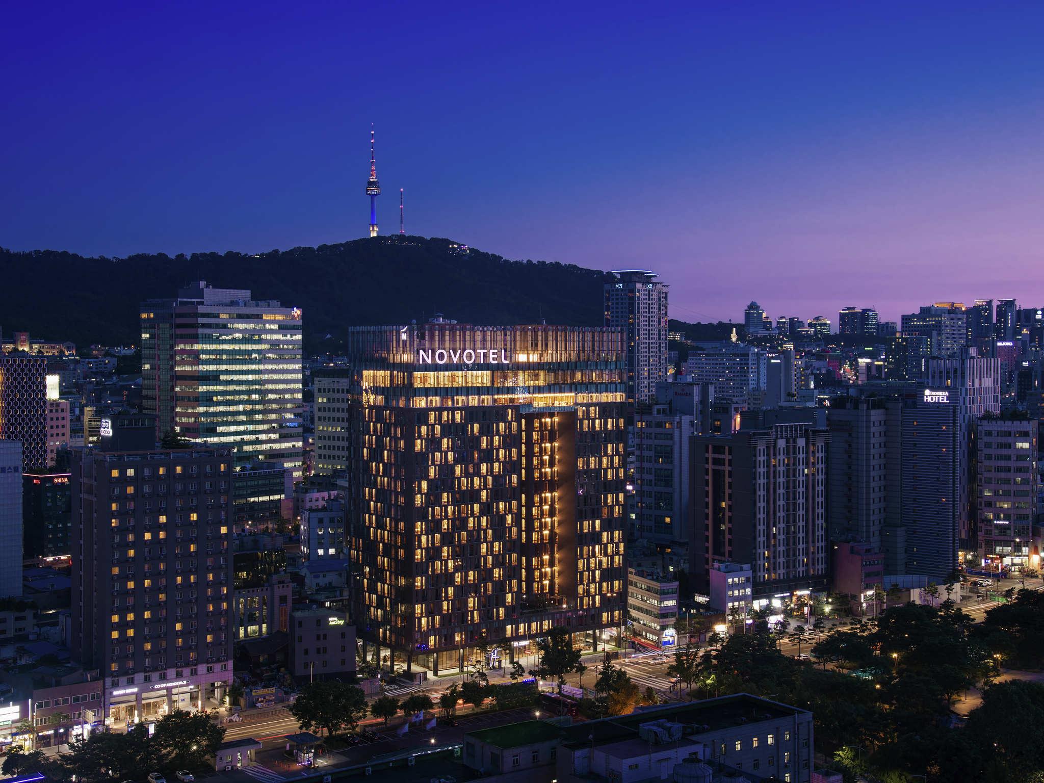 Hotel – Novotel Ambassador Seoul Dongdaemun Hotel (inaug. julho de 2018)