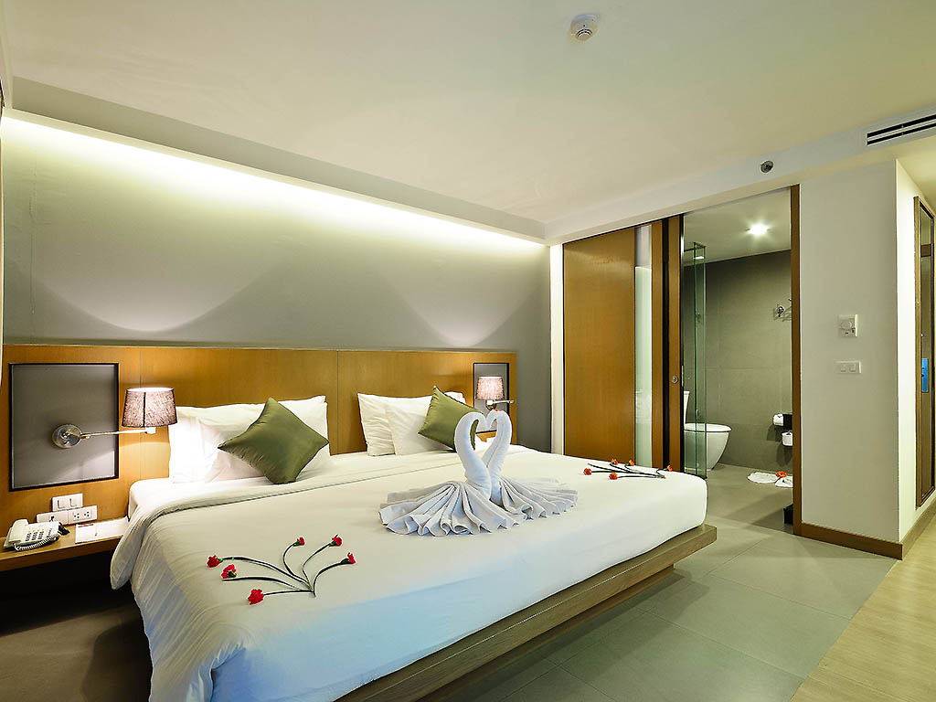 H tel koh samui mercure koh samui beach resort for Chambre avec lit king size