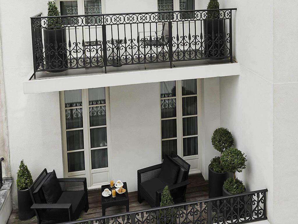 Hotel in paris les jardins de la villa for Jardin de la villa paris