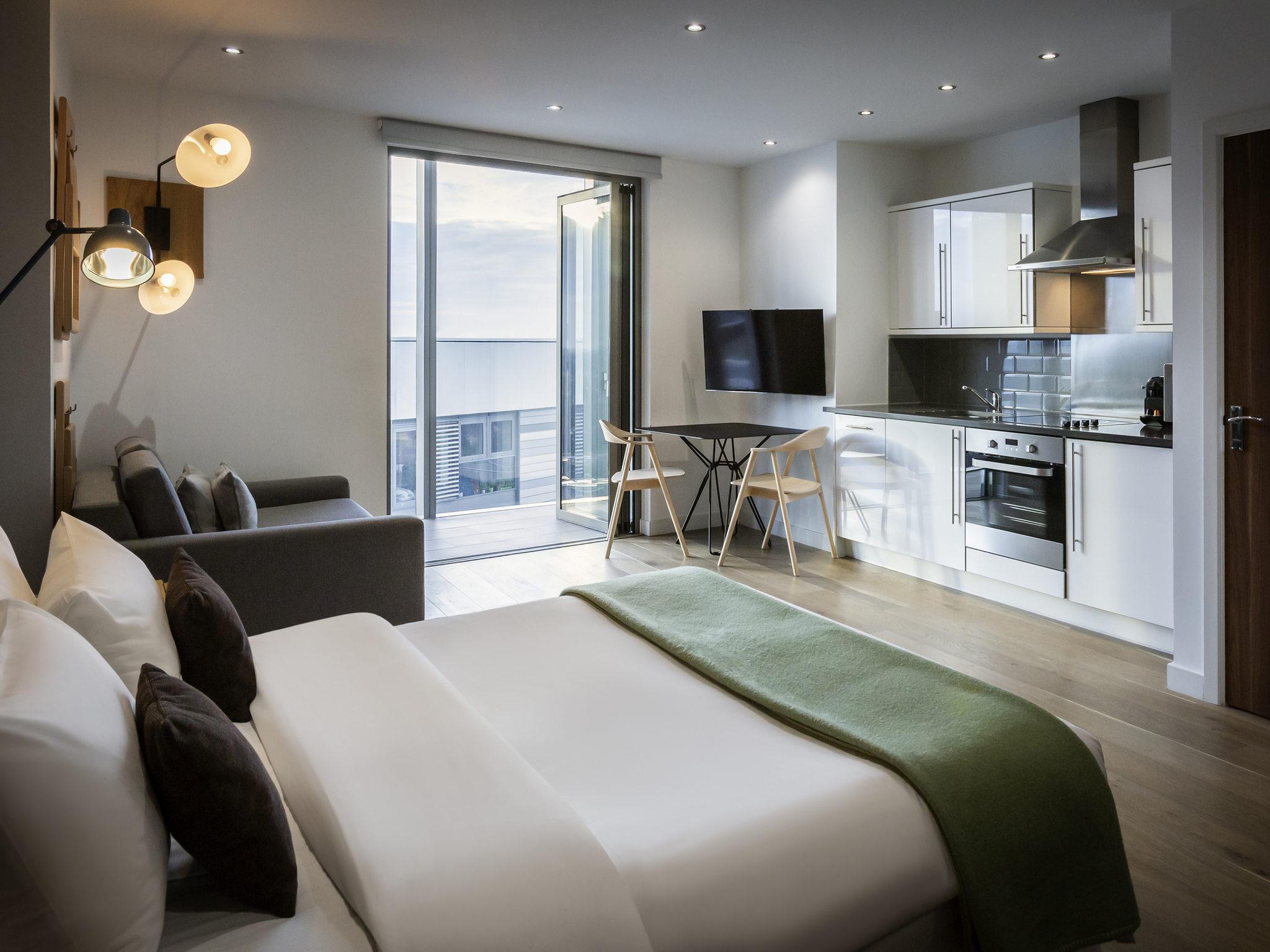 Hotell – Aparthotel Adagio London Brentford (öppnar i oktober 2018)