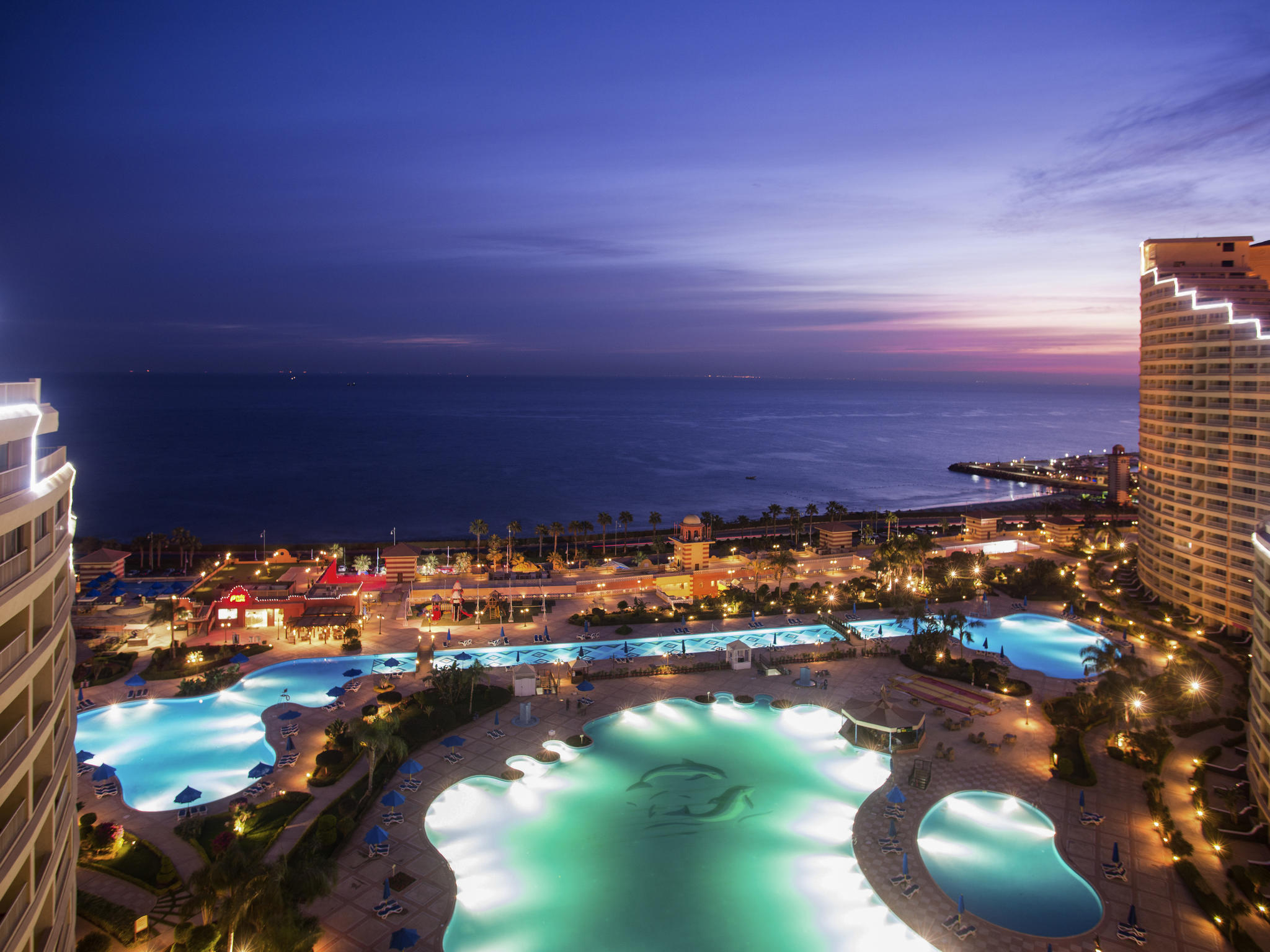 Hotel – Porto Sokhna Beach Resort