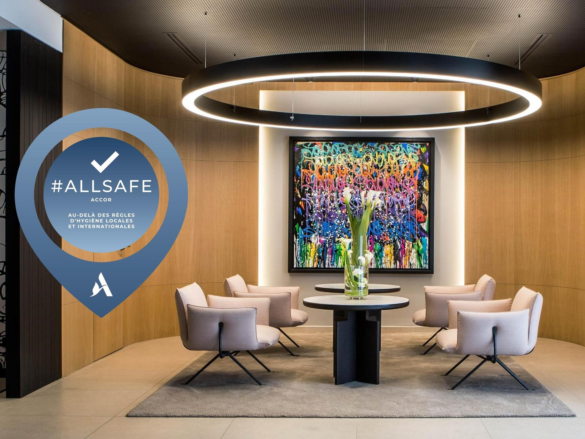 酒店 – 巴黎 17 区巴蒂诺尔美居酒店(2018 年 5 月开业)