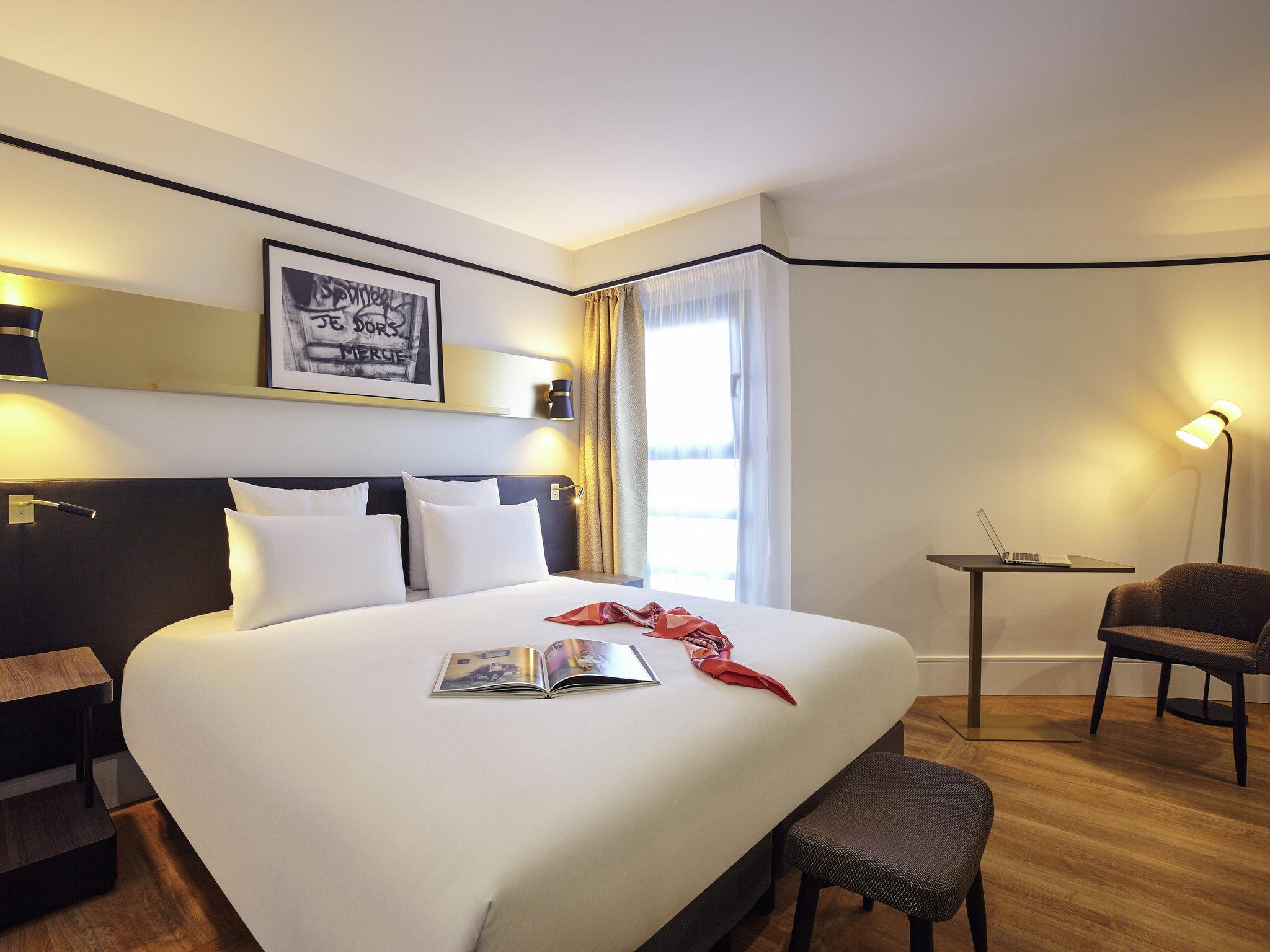 Отель — Hôtel Mercure Paris Saint-Ouen (ex Manhattan)
