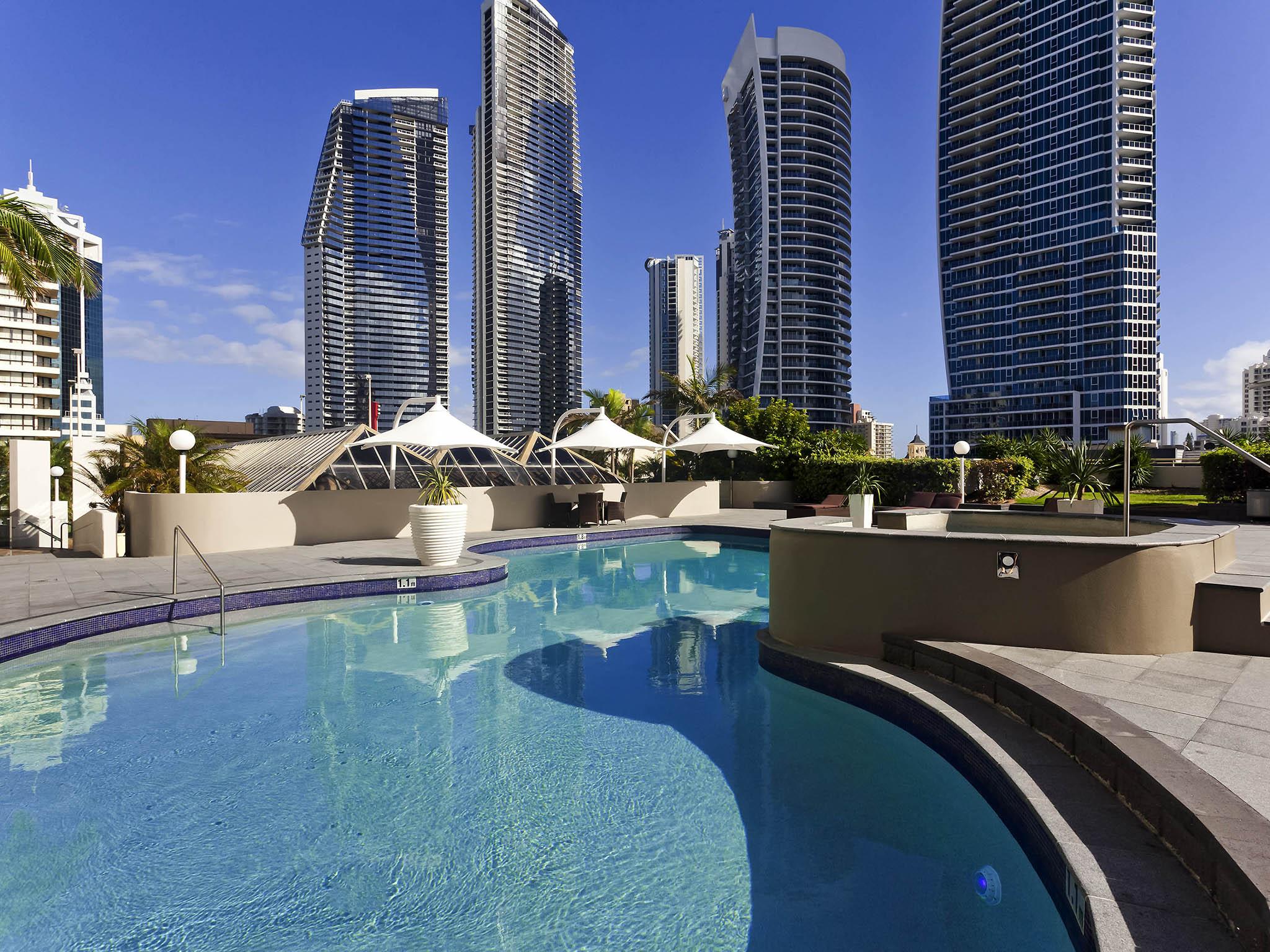 호텔 – Novotel Surfers Paradise