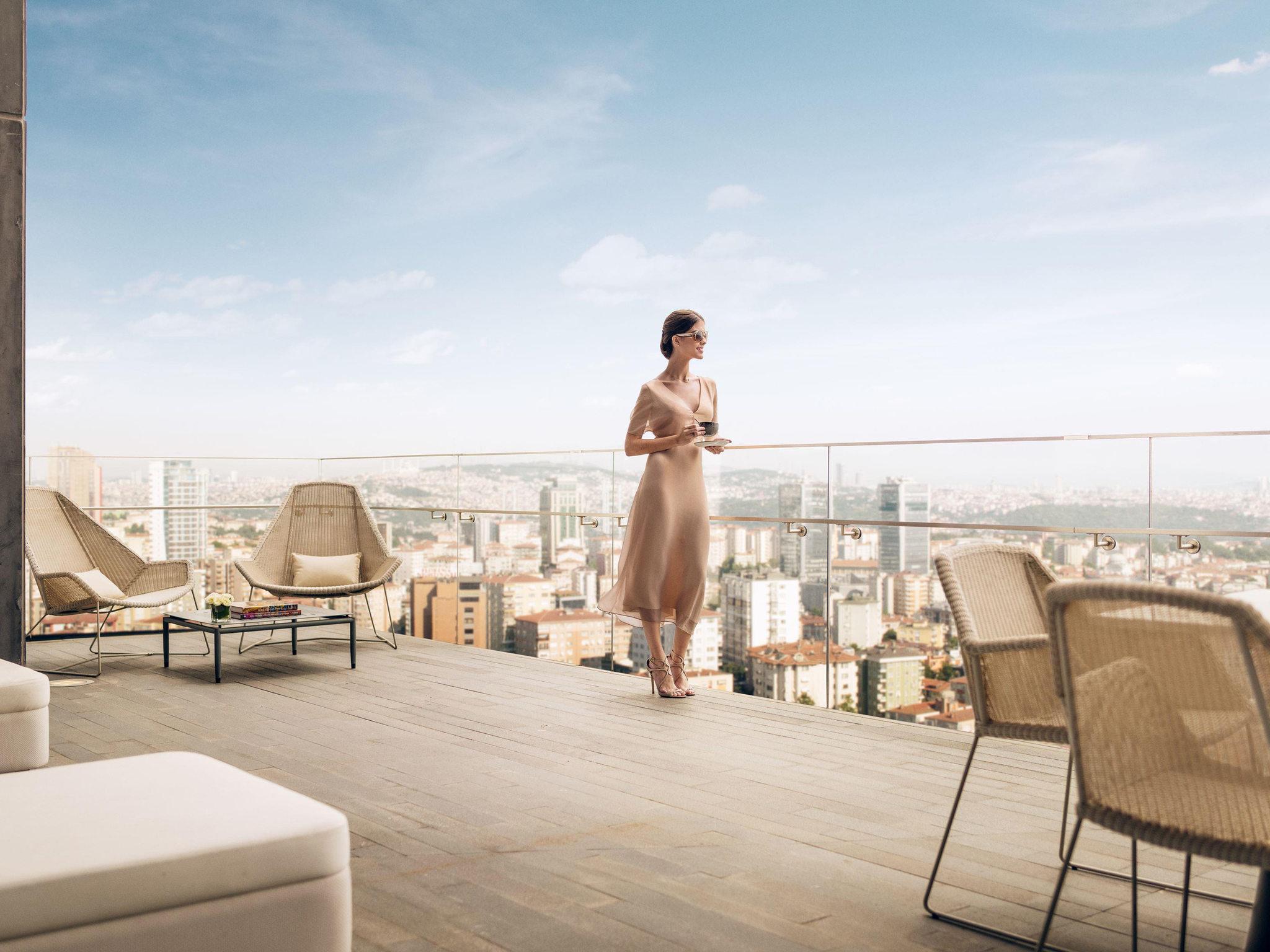 โรงแรม – Fairmont Quasar Istanbul