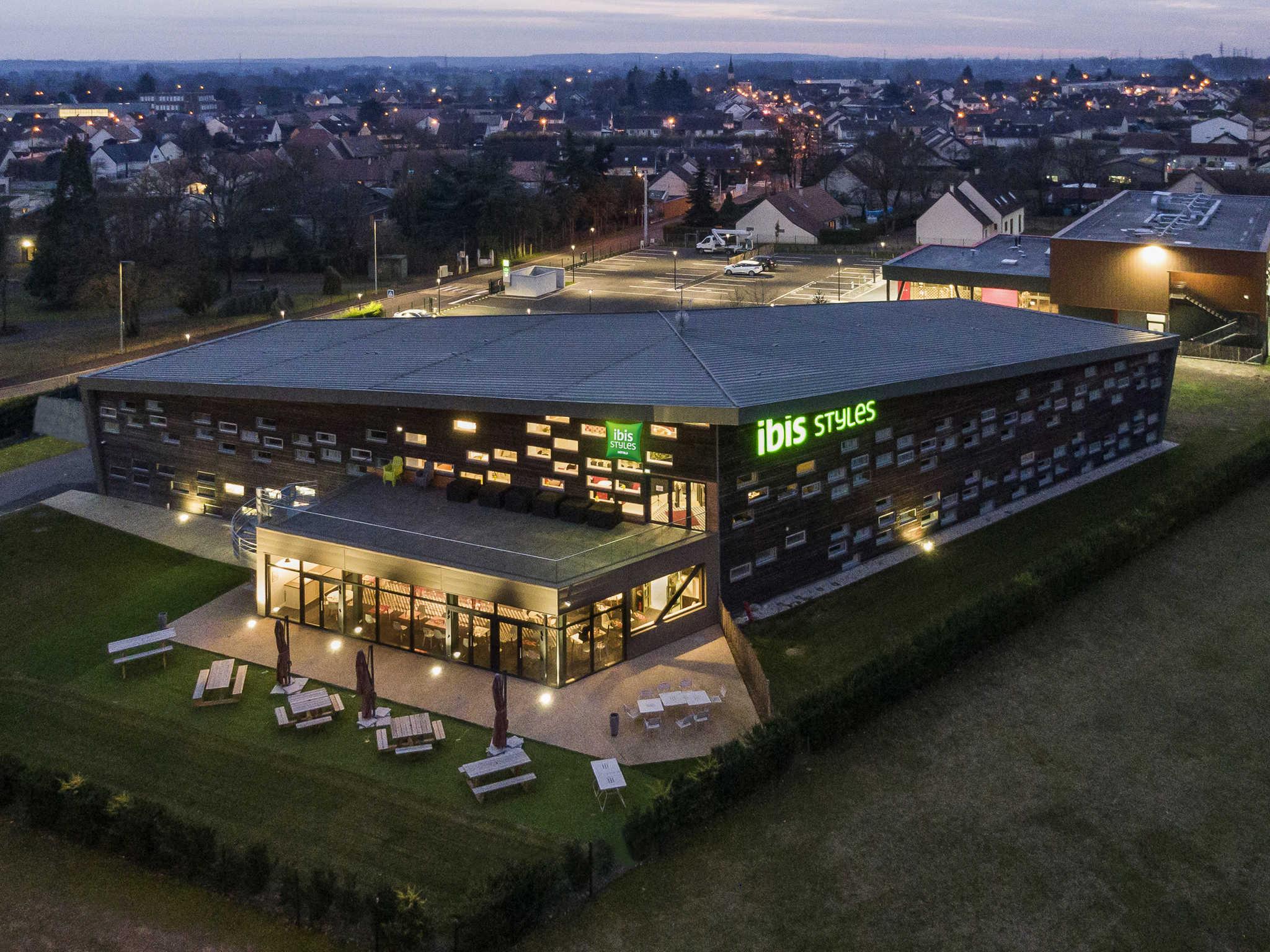 酒店 – ibis Styles Le Mans Sud Mulsanne