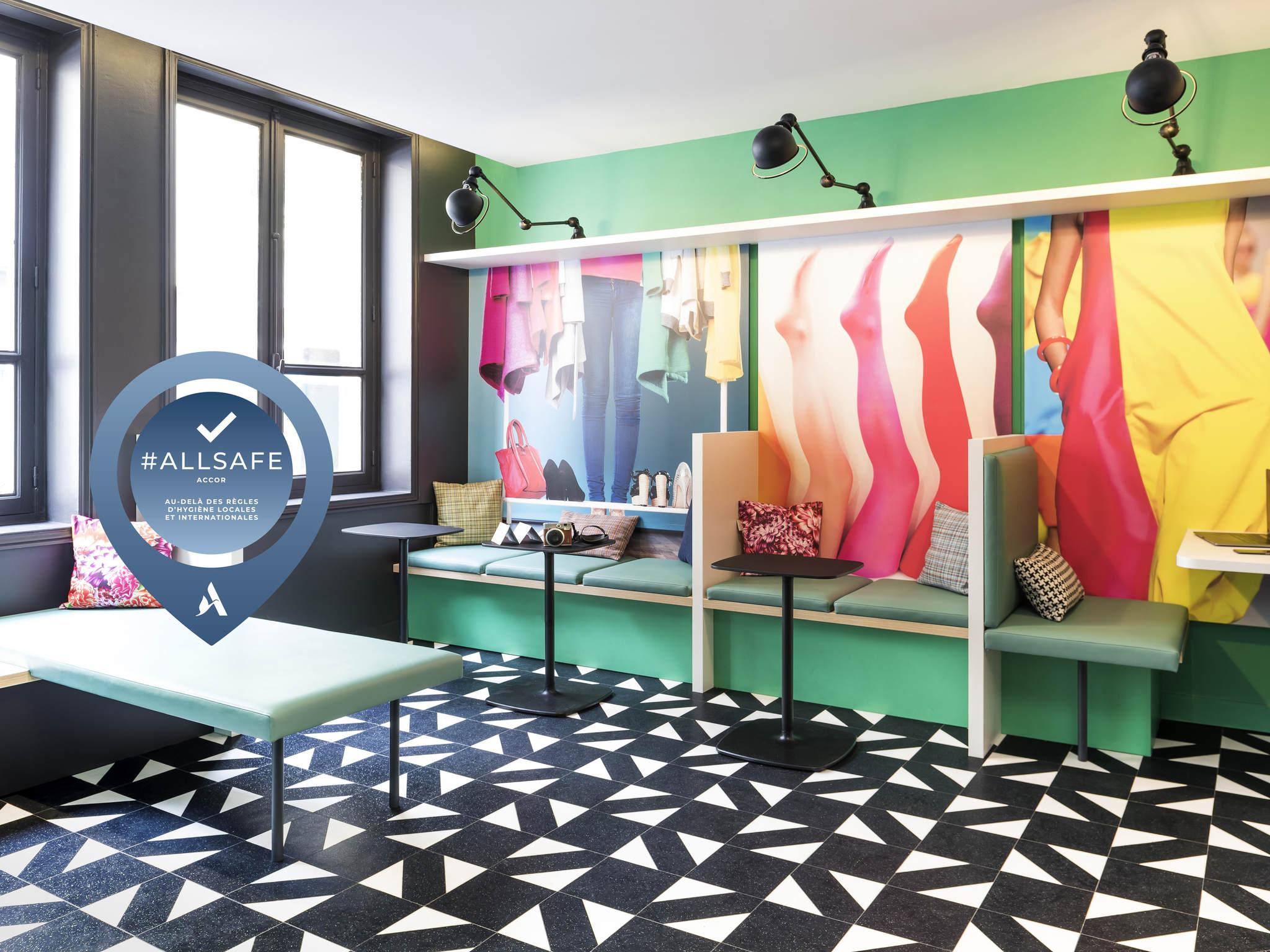 Hotel – Ibis Styles Paris Gare Saint Lazare