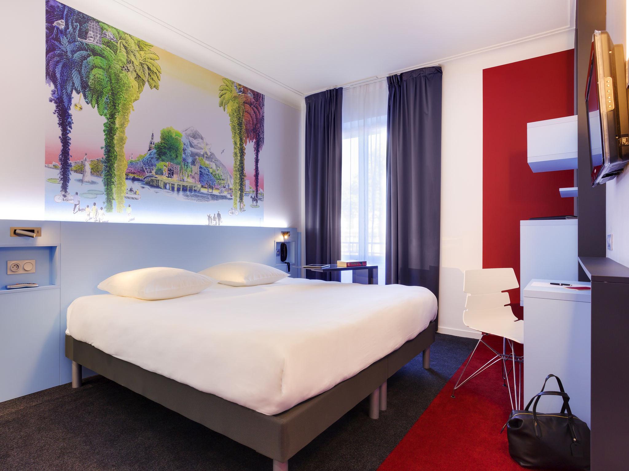Отель — ibis Styles Нант Центр Гар